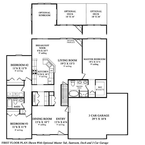 maronda homes floor plans sunbury