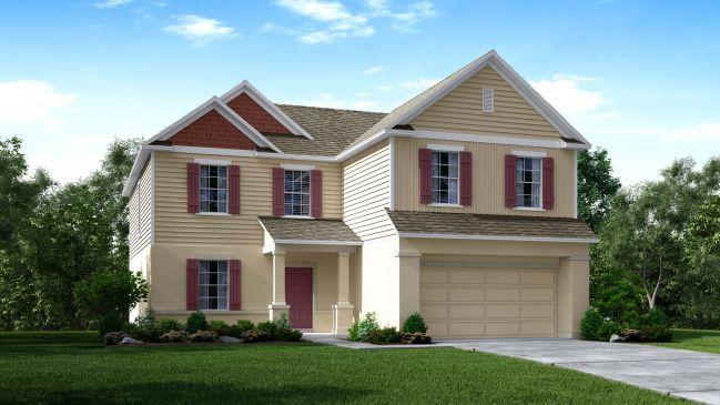 Baybury Plan Spring Hill Florida 34609 Baybury Plan at Spring – Maronda Homes Baybury Floor Plan