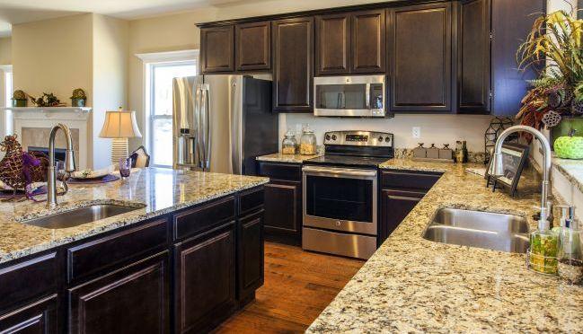 Kitchen-in-Newbury-at-Keystone Crossing-in-Marysville