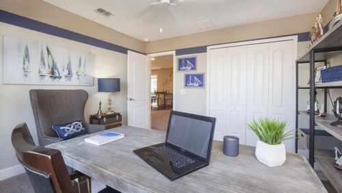 Study-in-Carlisle-at-Sawyer's Landing At Victoria Trails-in-Deland