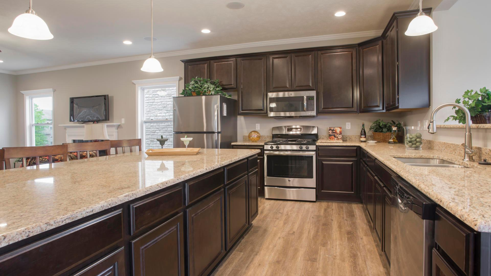 Kitchen featured in the Newbury By Maronda Homes in Pittsburgh, PA