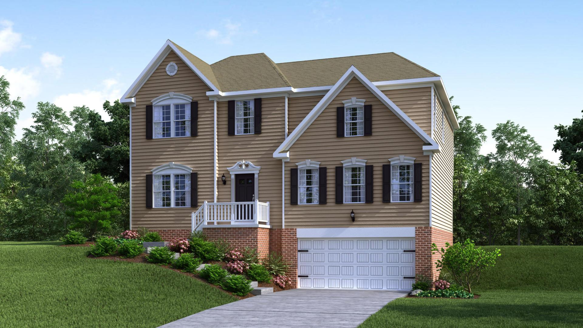 Exterior featured in the Tucson By Maronda Homes in Pittsburgh, PA