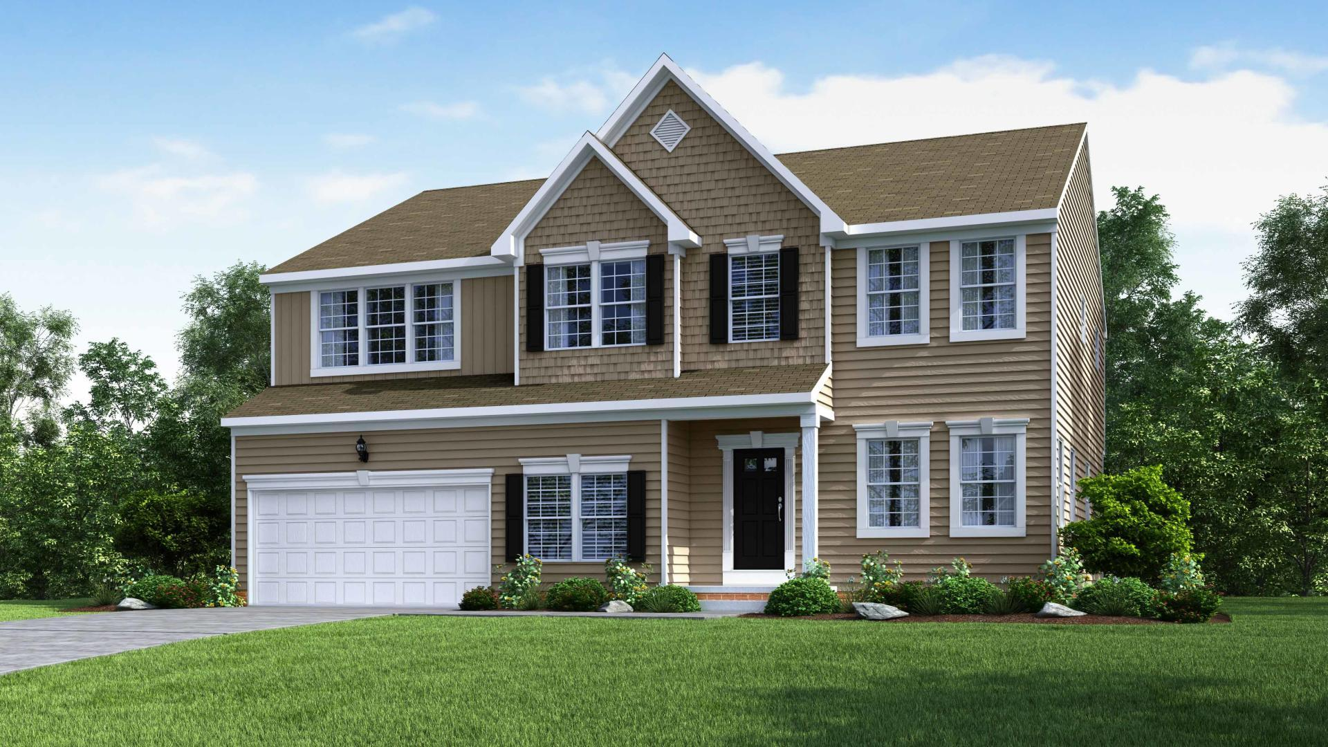 Exterior featured in the Cleveland By Maronda Homes in Pittsburgh, PA