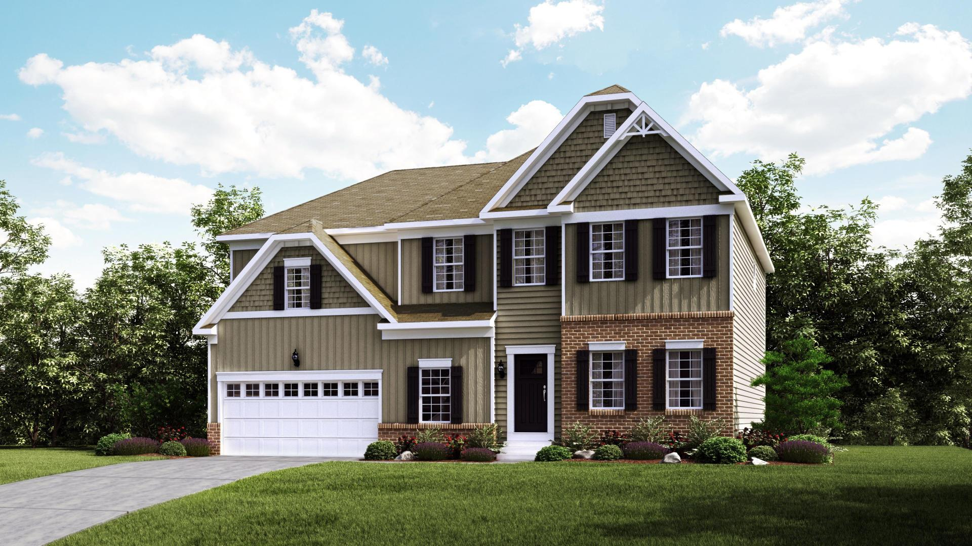 Exterior featured in the Truman By Maronda Homes in Pittsburgh, PA