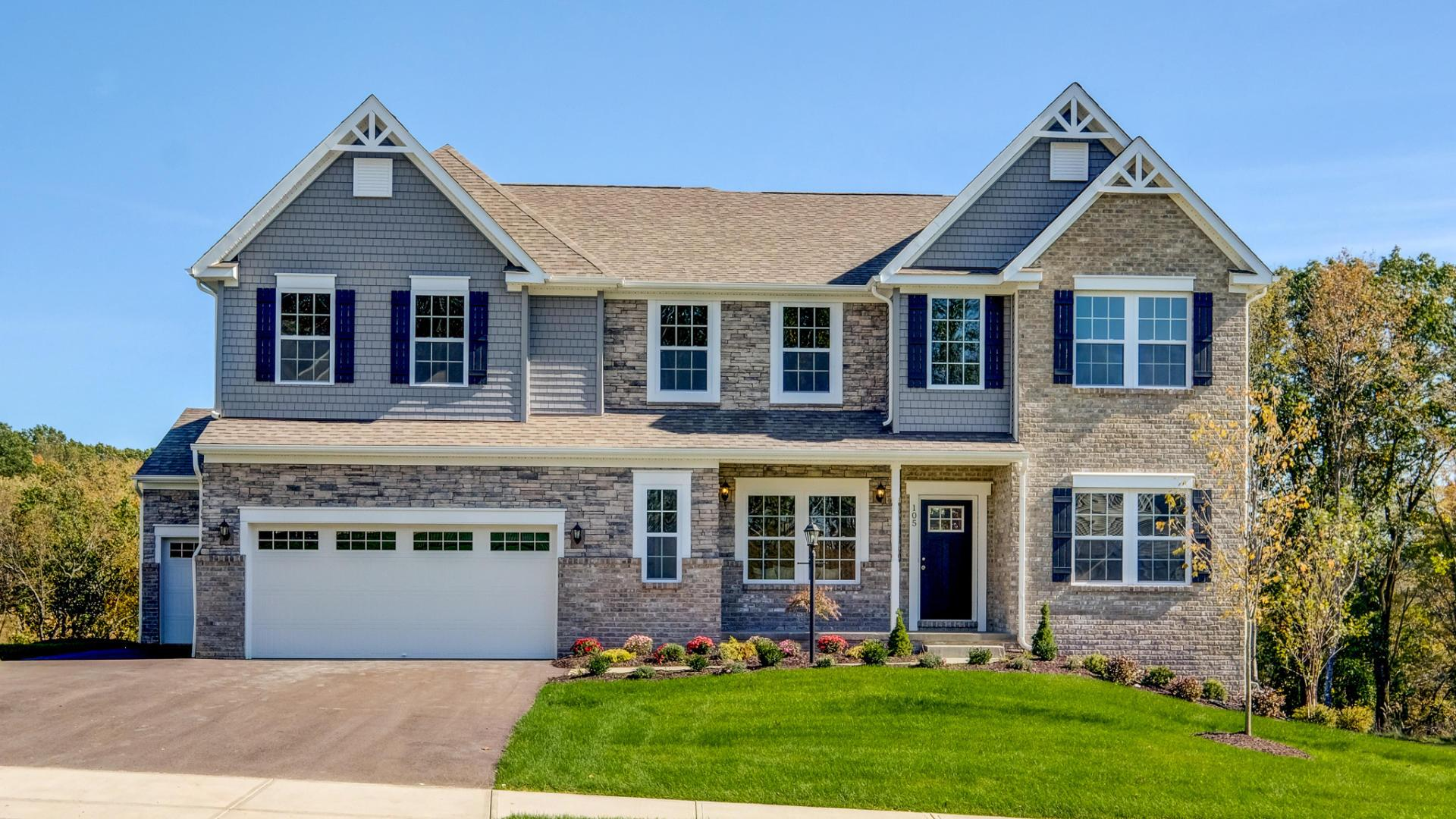 Exterior featured in the Kennedy By Maronda Homes in Pittsburgh, PA