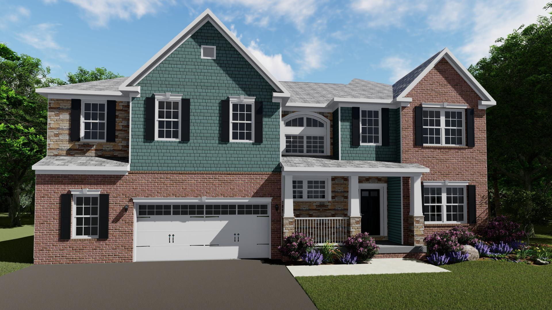 Exterior featured in the Reagan By Maronda Homes in Pittsburgh, PA