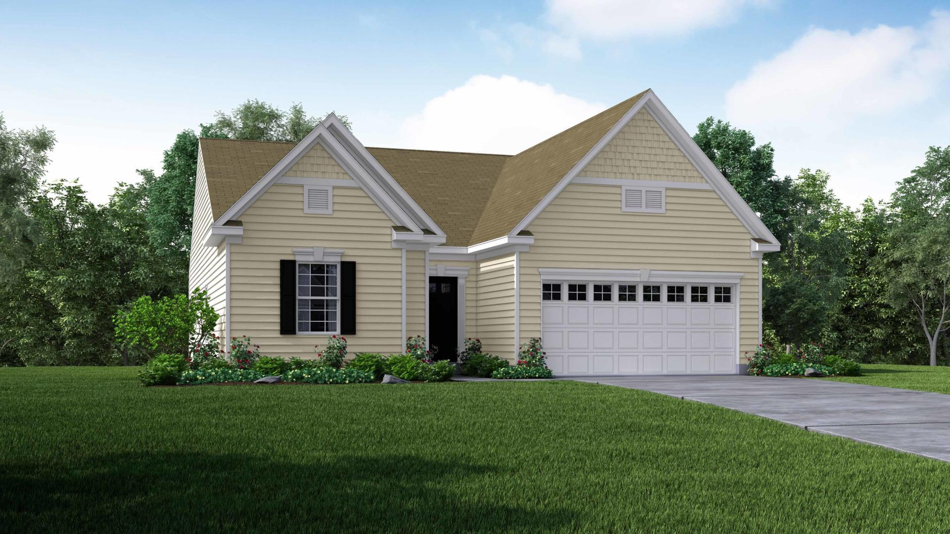 Exterior featured in the Sanibel By Maronda Homes in Pittsburgh, PA
