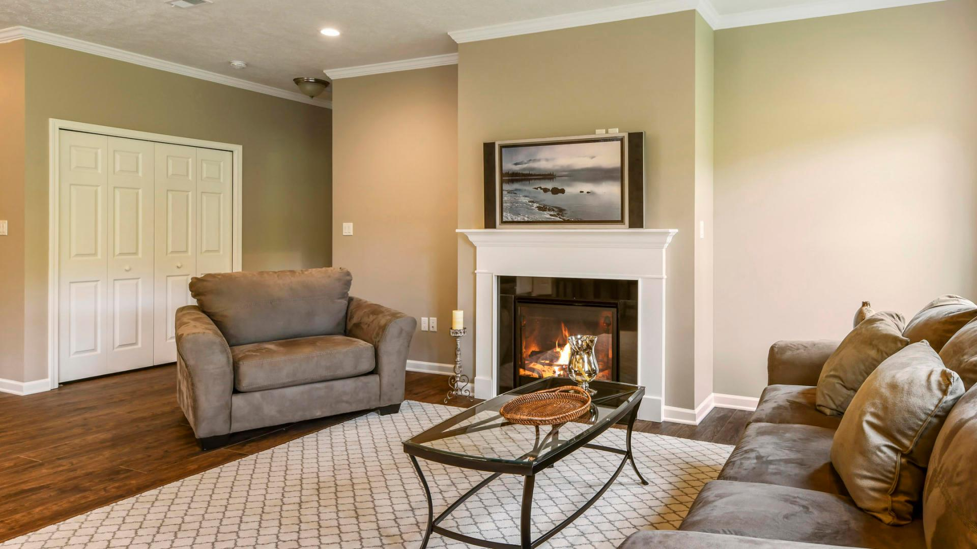 Living Area featured in the Sanibel By Maronda Homes in Pittsburgh, PA