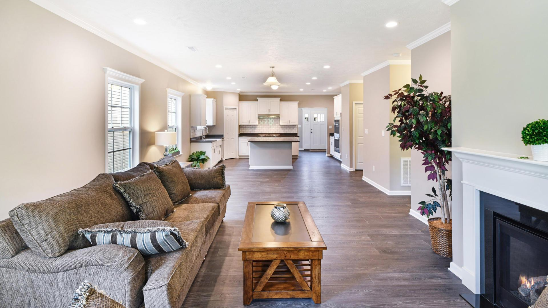 Living Area featured in the Richmond By Maronda Homes in Pittsburgh, PA