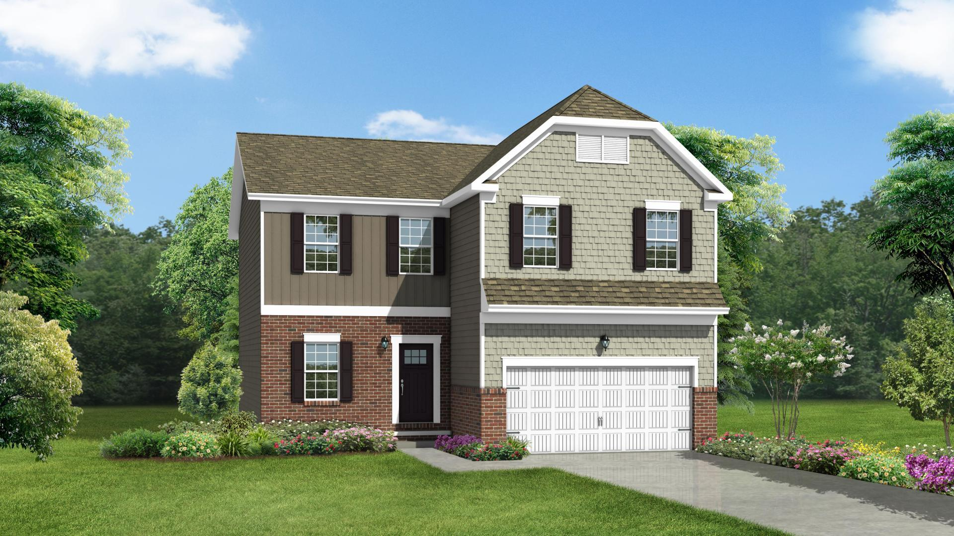Exterior featured in the Rockford By Maronda Homes in Pittsburgh, PA