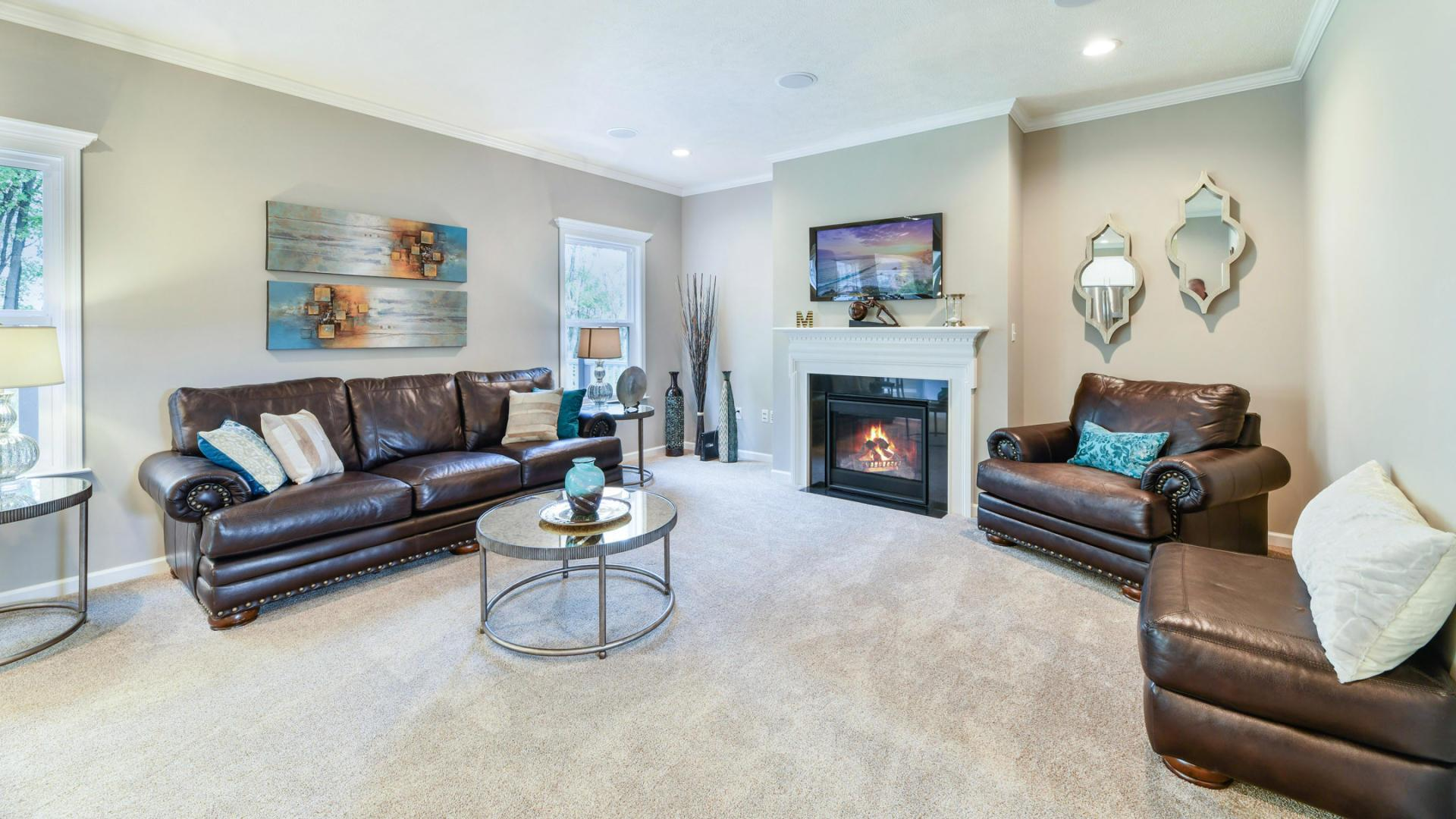 Living Area featured in the Rockford By Maronda Homes in Pittsburgh, PA
