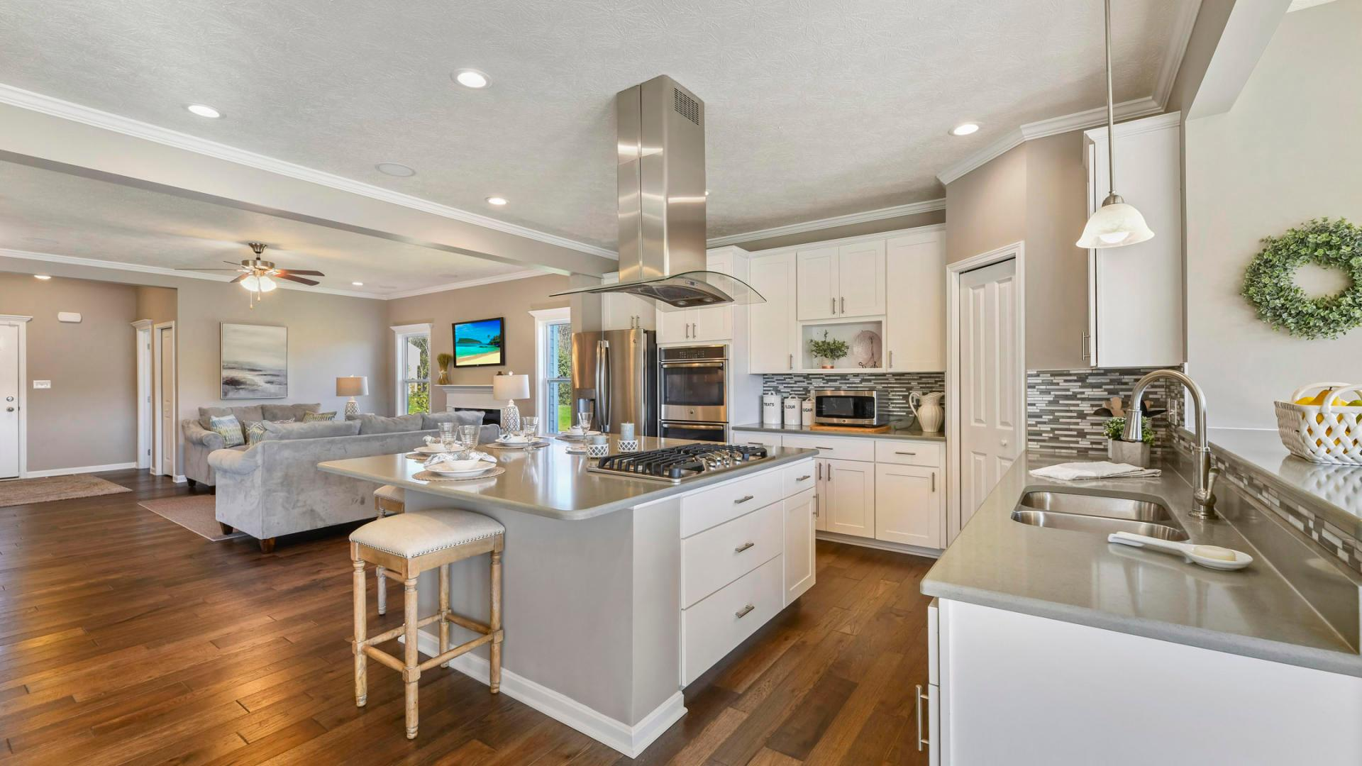 Kitchen featured in the Nashville By Maronda Homes in Pittsburgh, PA