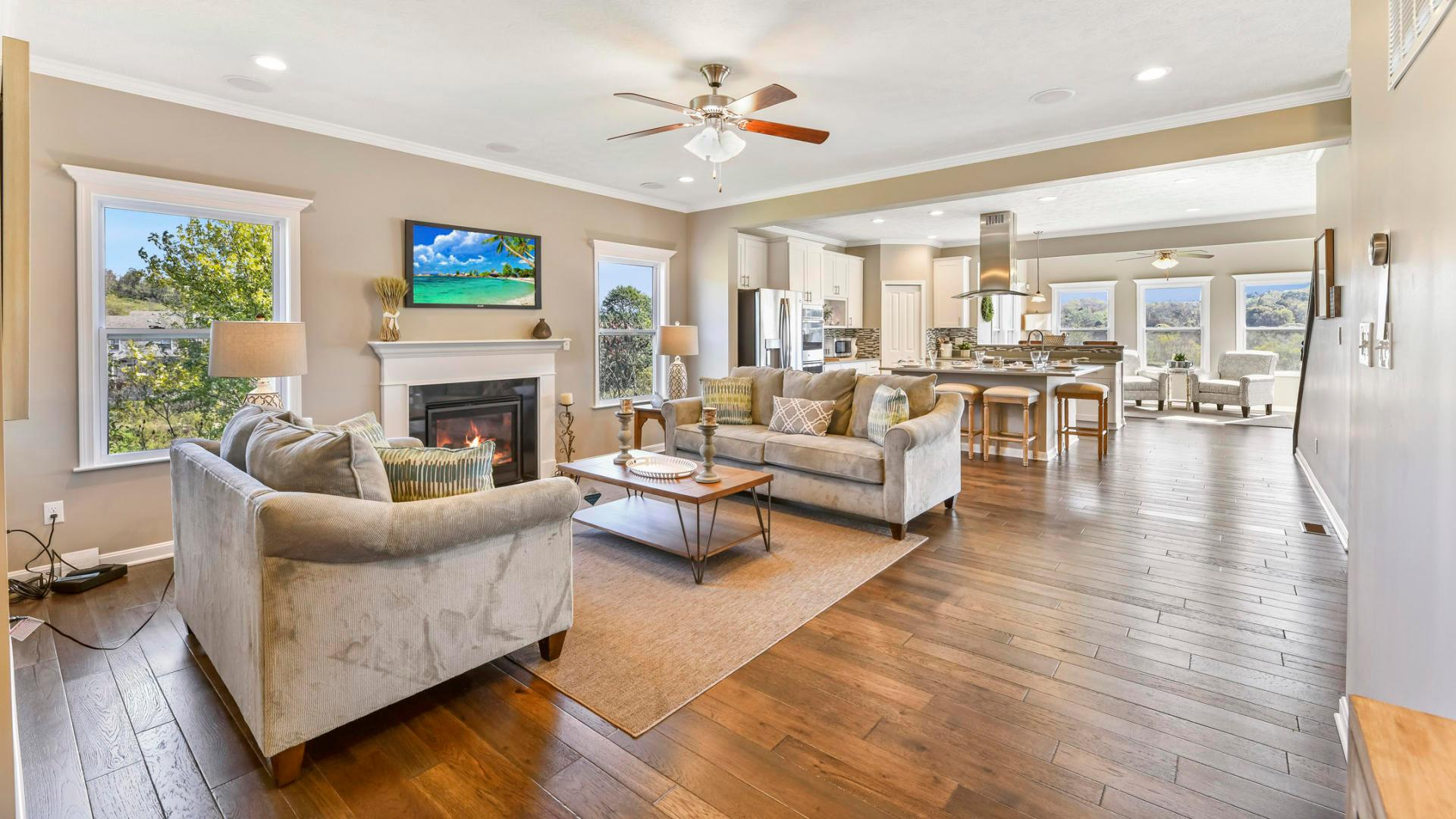 Living Area featured in the Nashville By Maronda Homes in Pittsburgh, PA