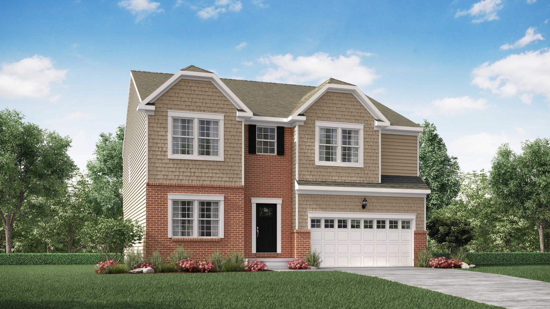 Exterior featured in the Carlisle By Maronda Homes in Pittsburgh, PA