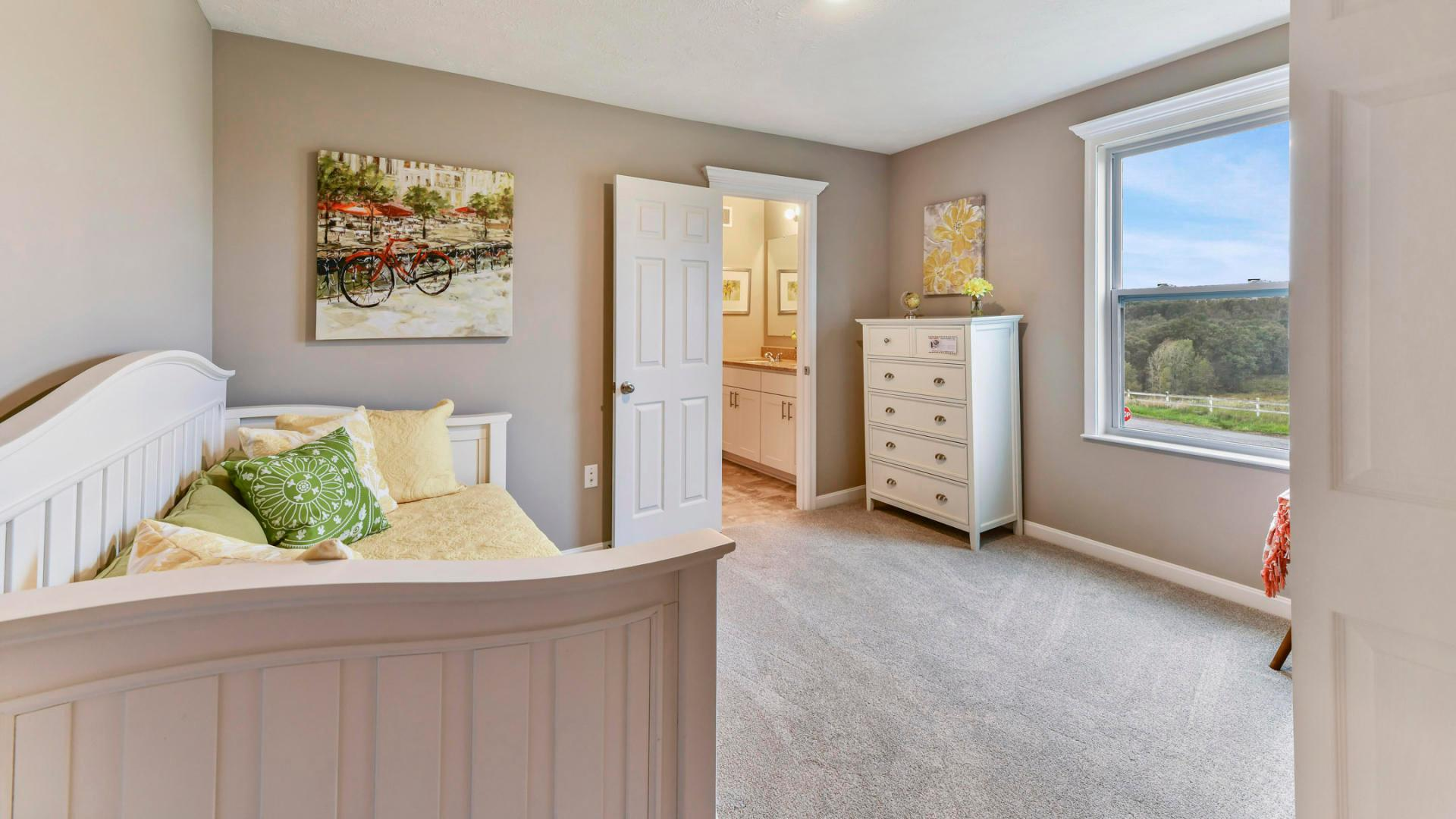 Bedroom featured in the Carlisle By Maronda Homes in Pittsburgh, PA