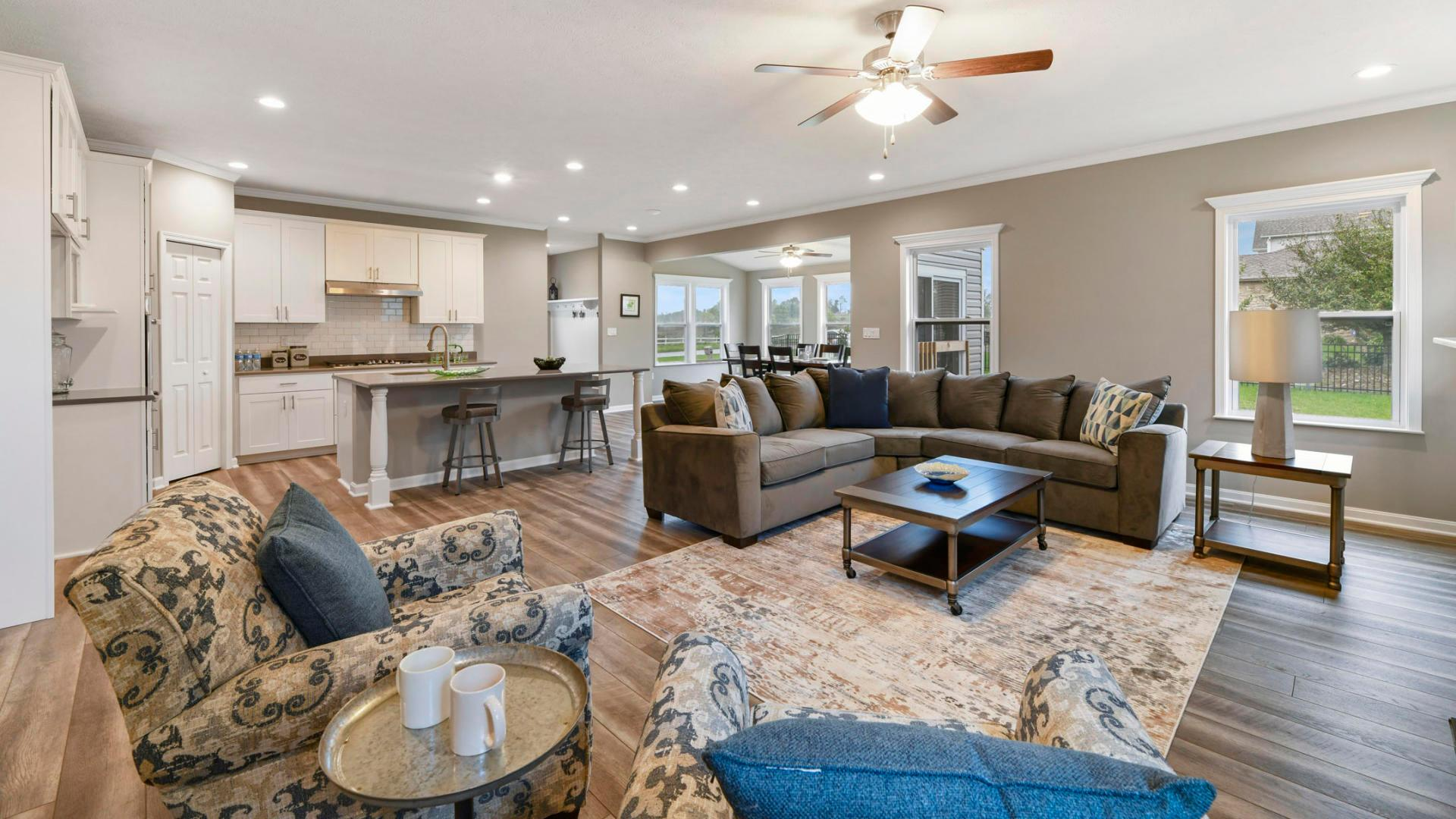 Living Area featured in the Carlisle By Maronda Homes in Pittsburgh, PA