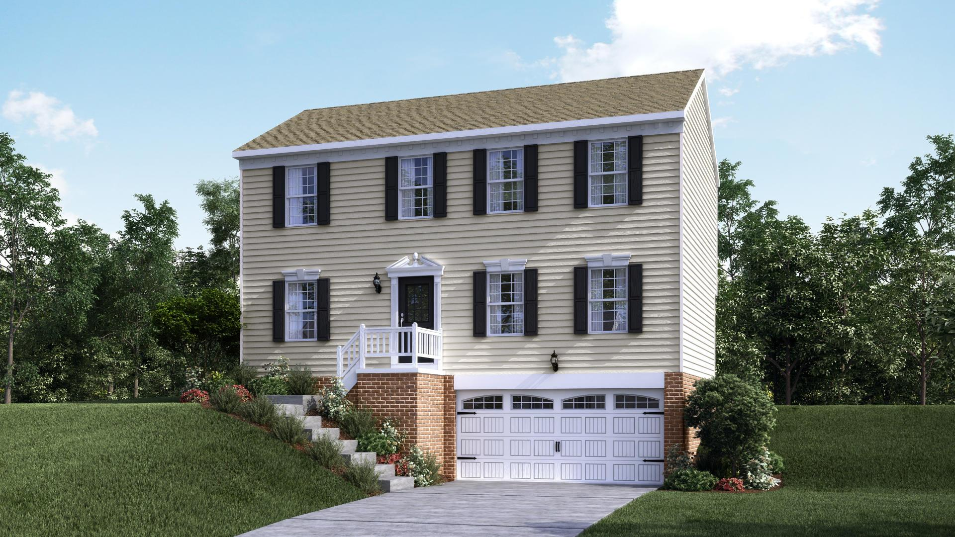 Exterior featured in the Rochester By Maronda Homes in Pittsburgh, PA