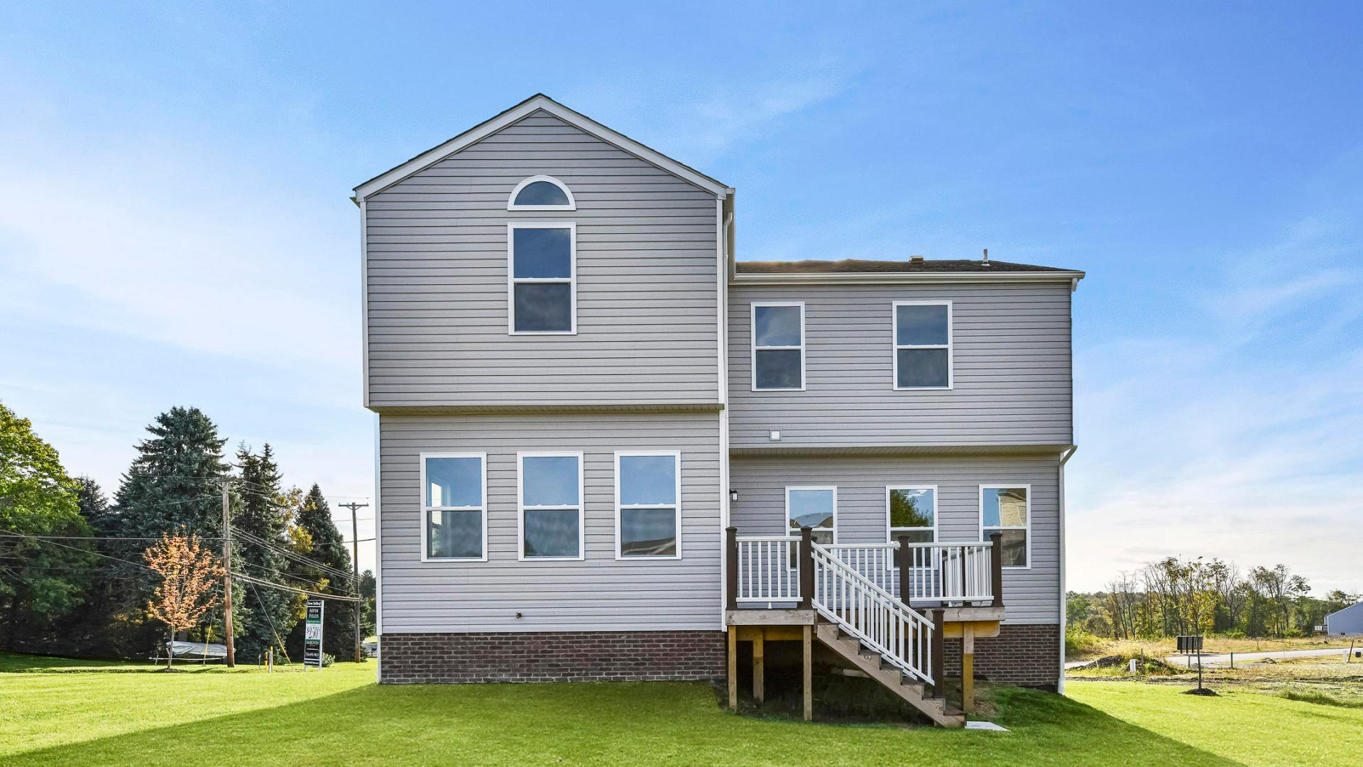 Exterior featured in the Cheshire By Maronda Homes in Pittsburgh, PA
