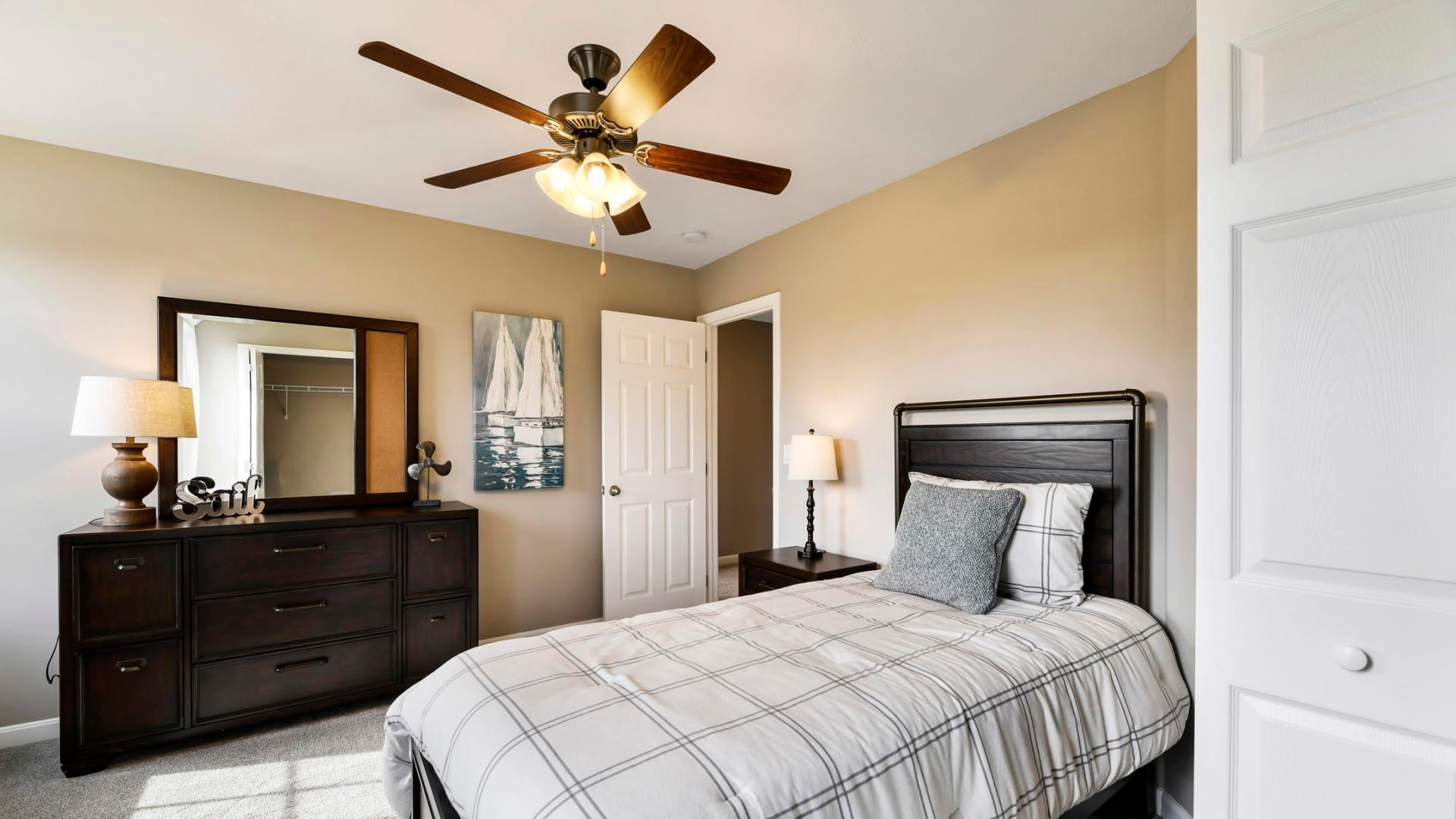 Bedroom featured in the Cheshire By Maronda Homes in Pittsburgh, PA
