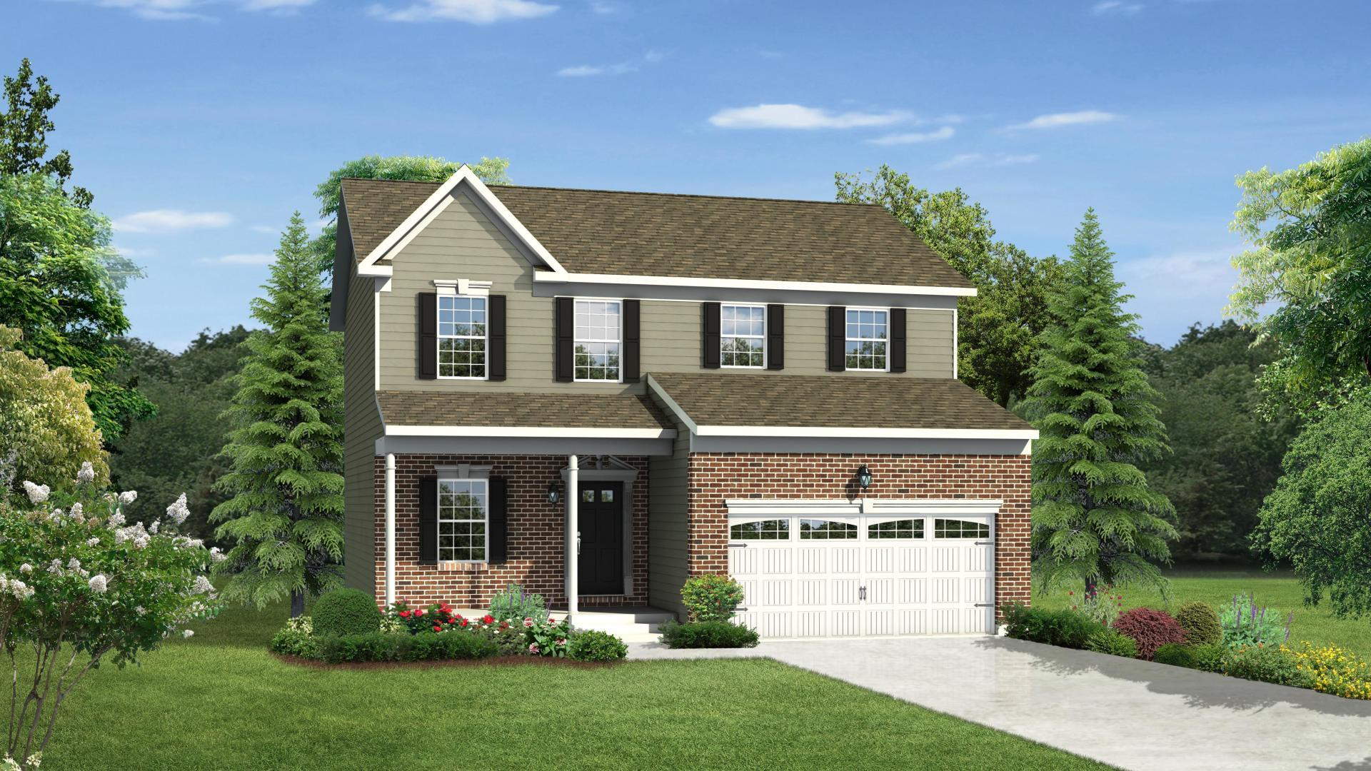Exterior featured in the Rockford By Maronda Homes in Columbus, OH