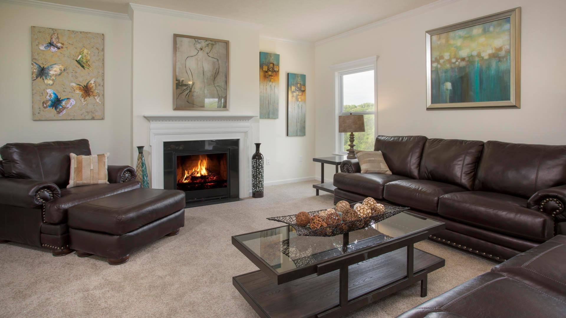 Living Area featured in the Rockford By Maronda Homes in Columbus, OH