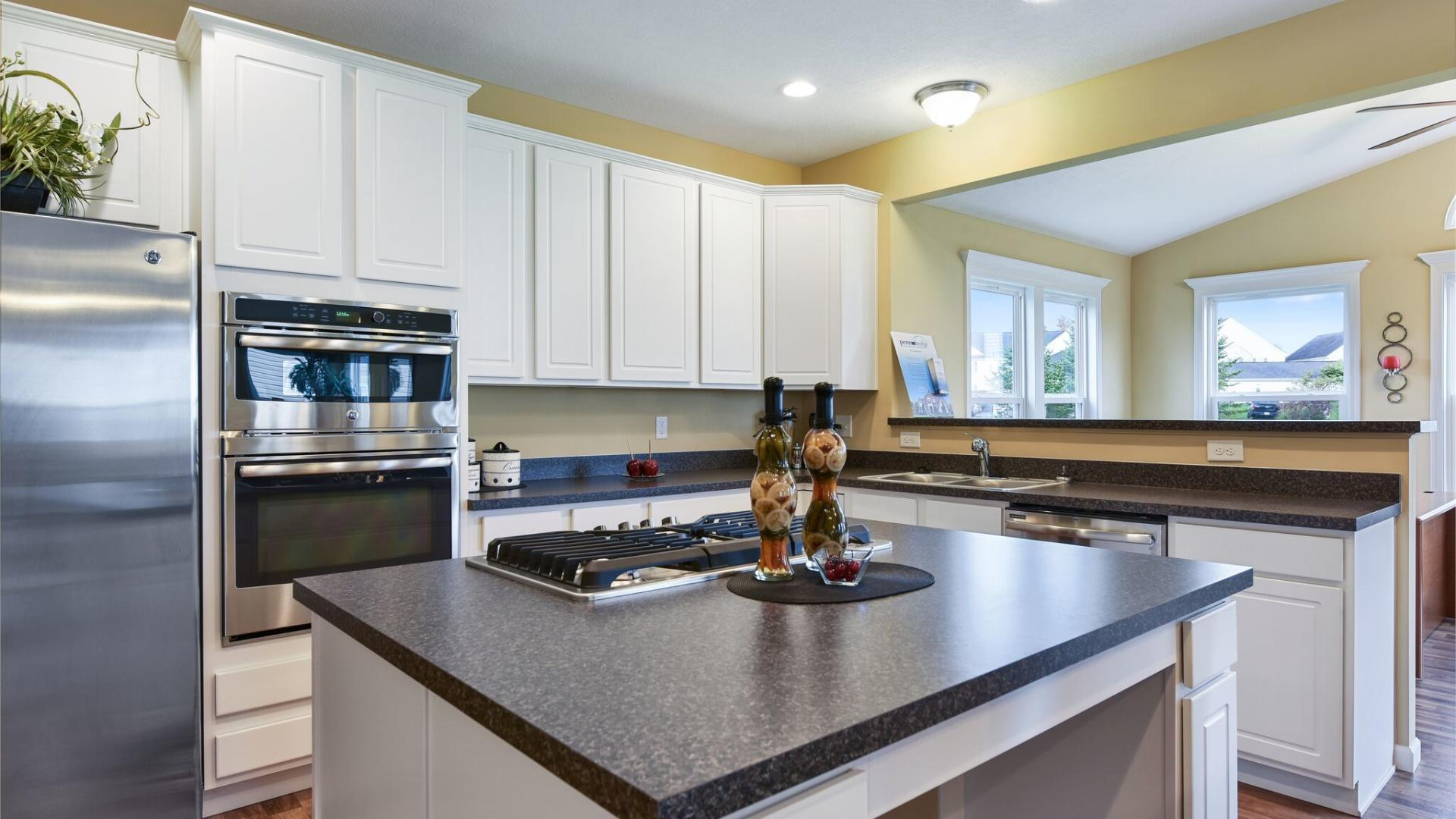 Kitchen featured in the Somerset By Maronda Homes in Columbus, OH