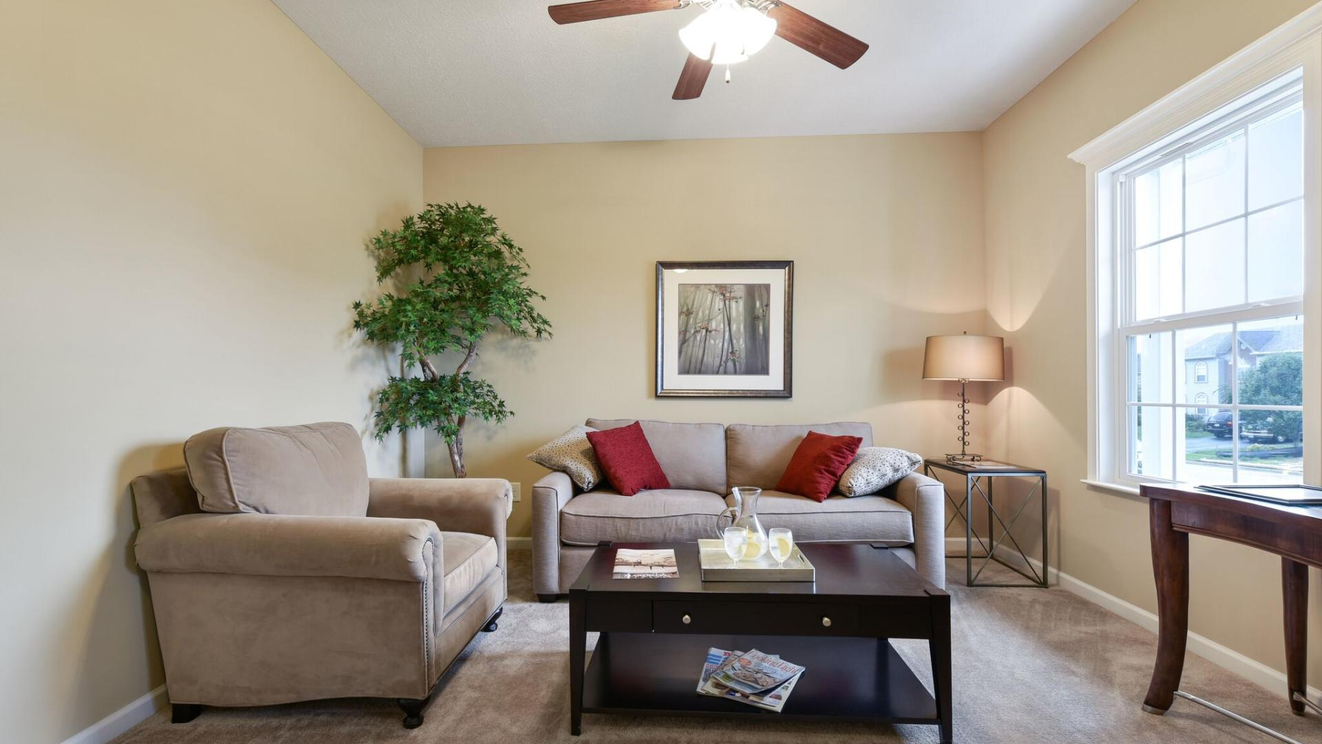 Living Area featured in the Somerset By Maronda Homes in Cincinnati, OH