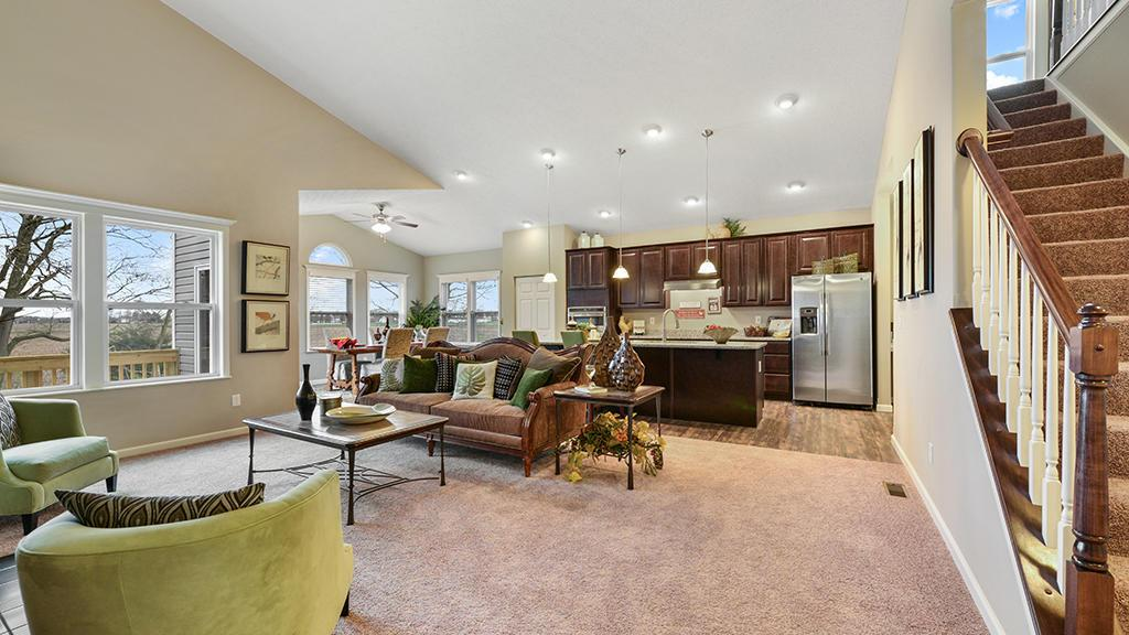 Living Area featured in the Knoxville By Maronda Homes in Columbus, OH