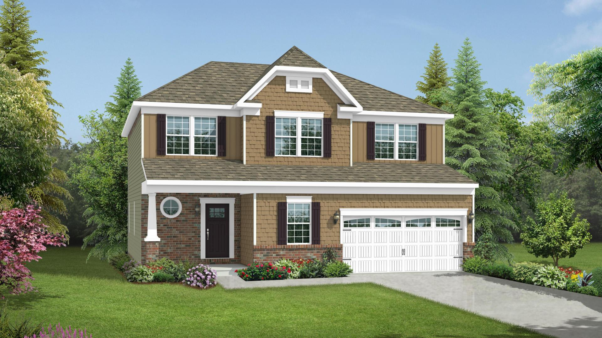 Exterior featured in the Chatham By Maronda Homes in Columbus, OH