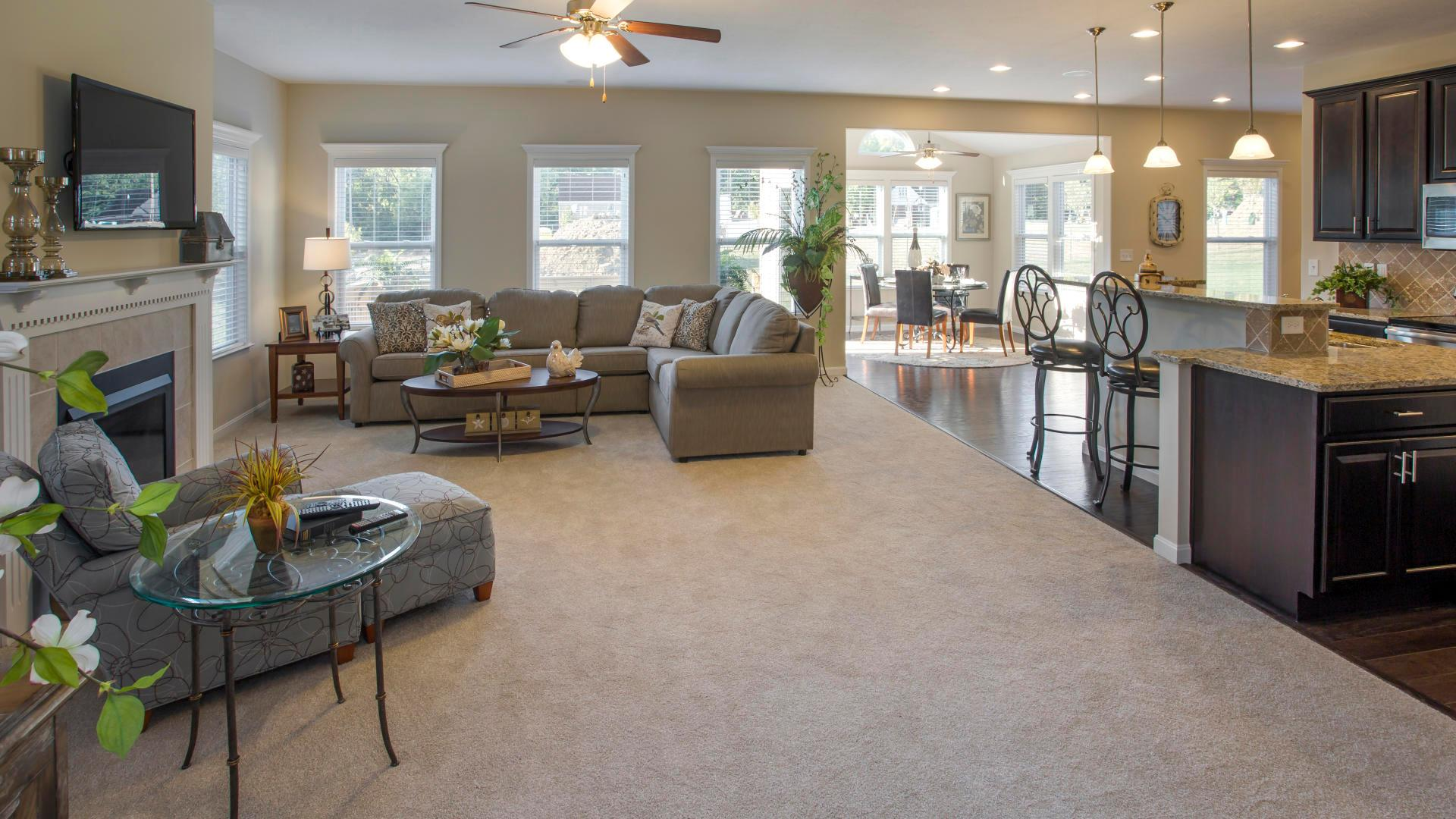 Living Area featured in the Chatham By Maronda Homes in Columbus, OH