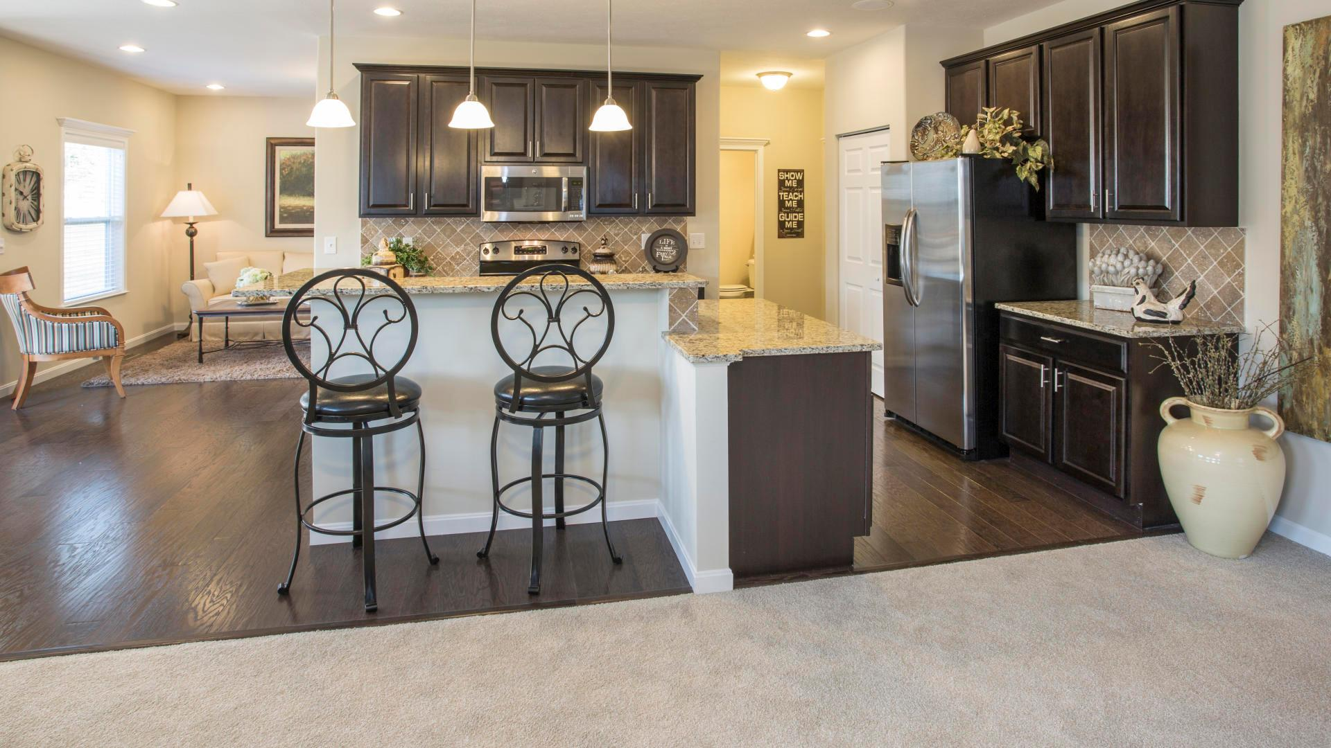 Kitchen featured in the Chatham By Maronda Homes in Cincinnati, OH