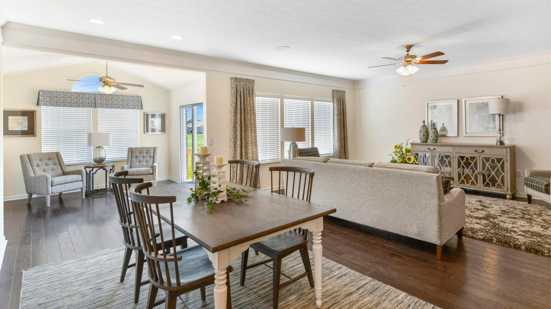 Living Area featured in the Wilmington By Maronda Homes in Cincinnati, OH