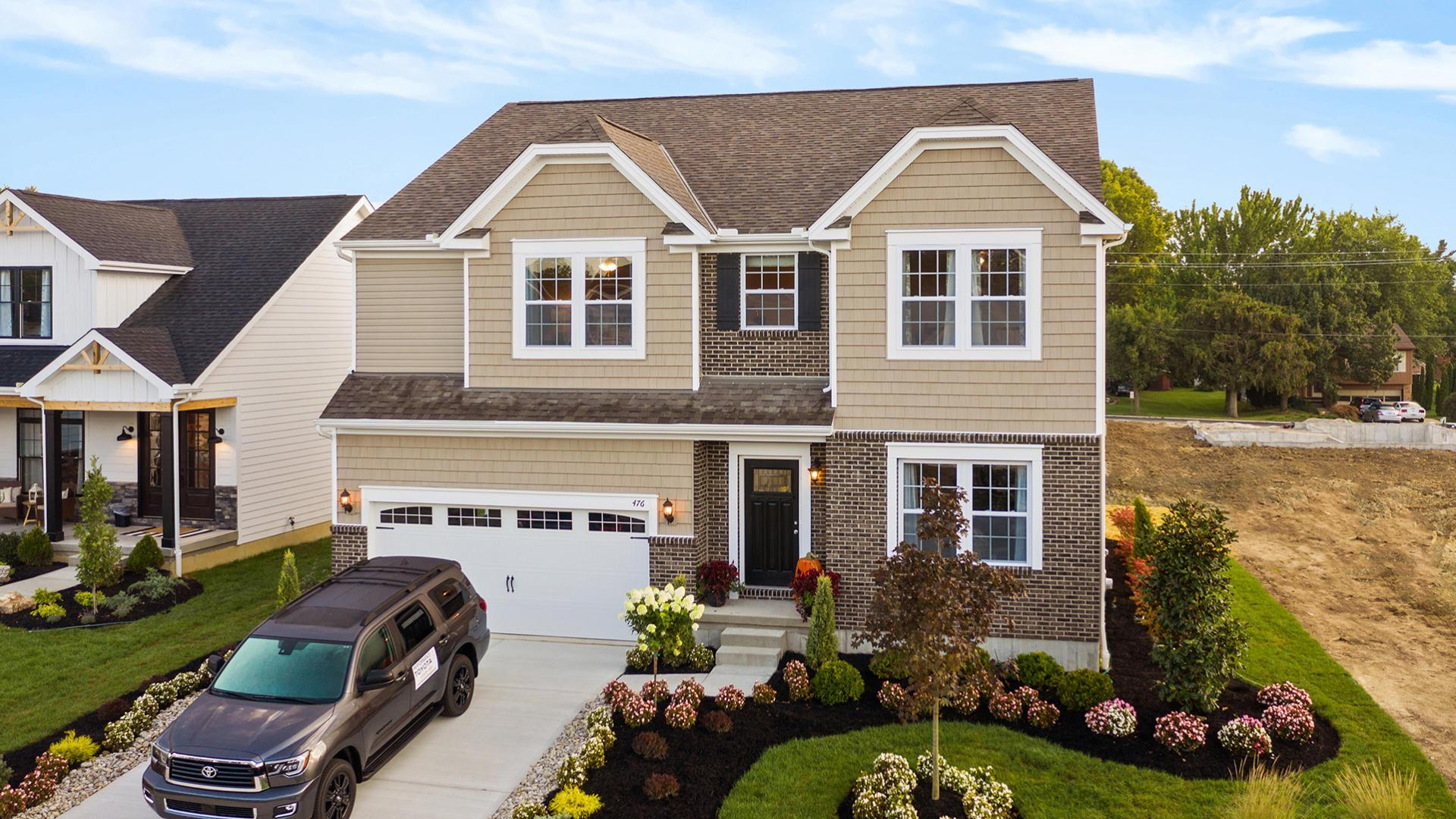 Exterior featured in the Carlisle By Maronda Homes in Columbus, OH