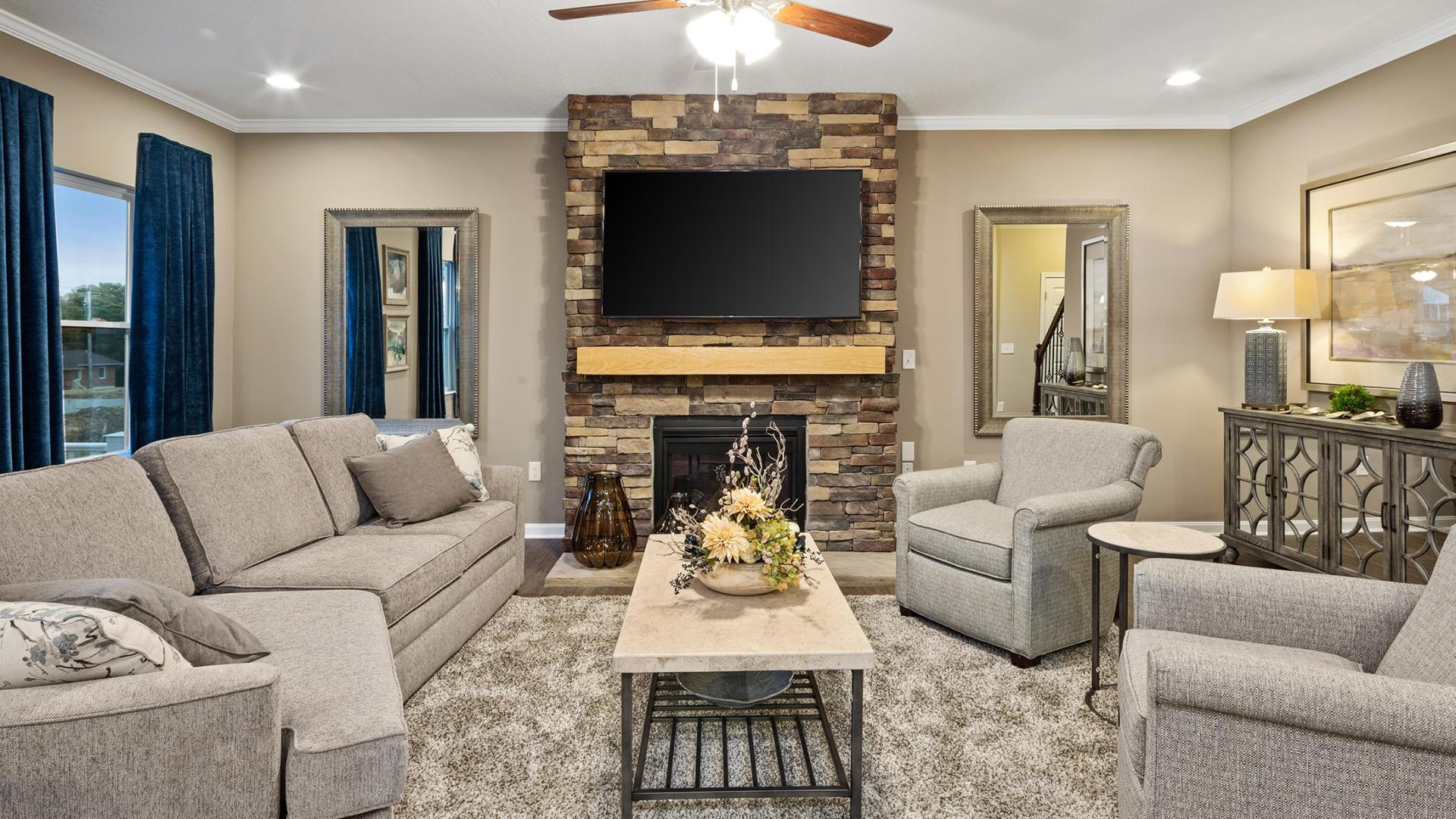 Living Area featured in the Carlisle By Maronda Homes in Columbus, OH