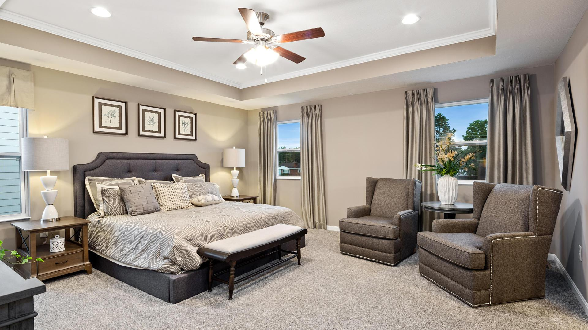 Bedroom featured in the Carlisle By Maronda Homes in Columbus, OH