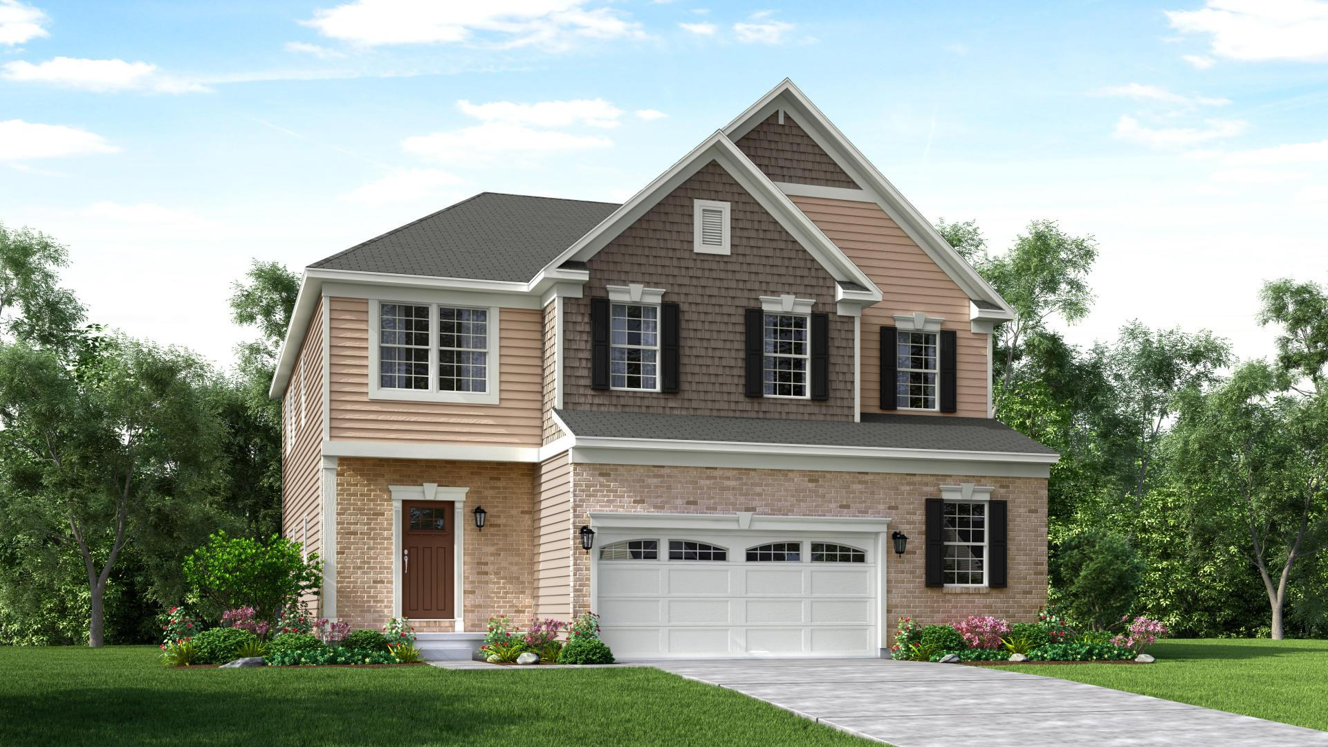 Exterior featured in the Columbus By Maronda Homes in Columbus, OH