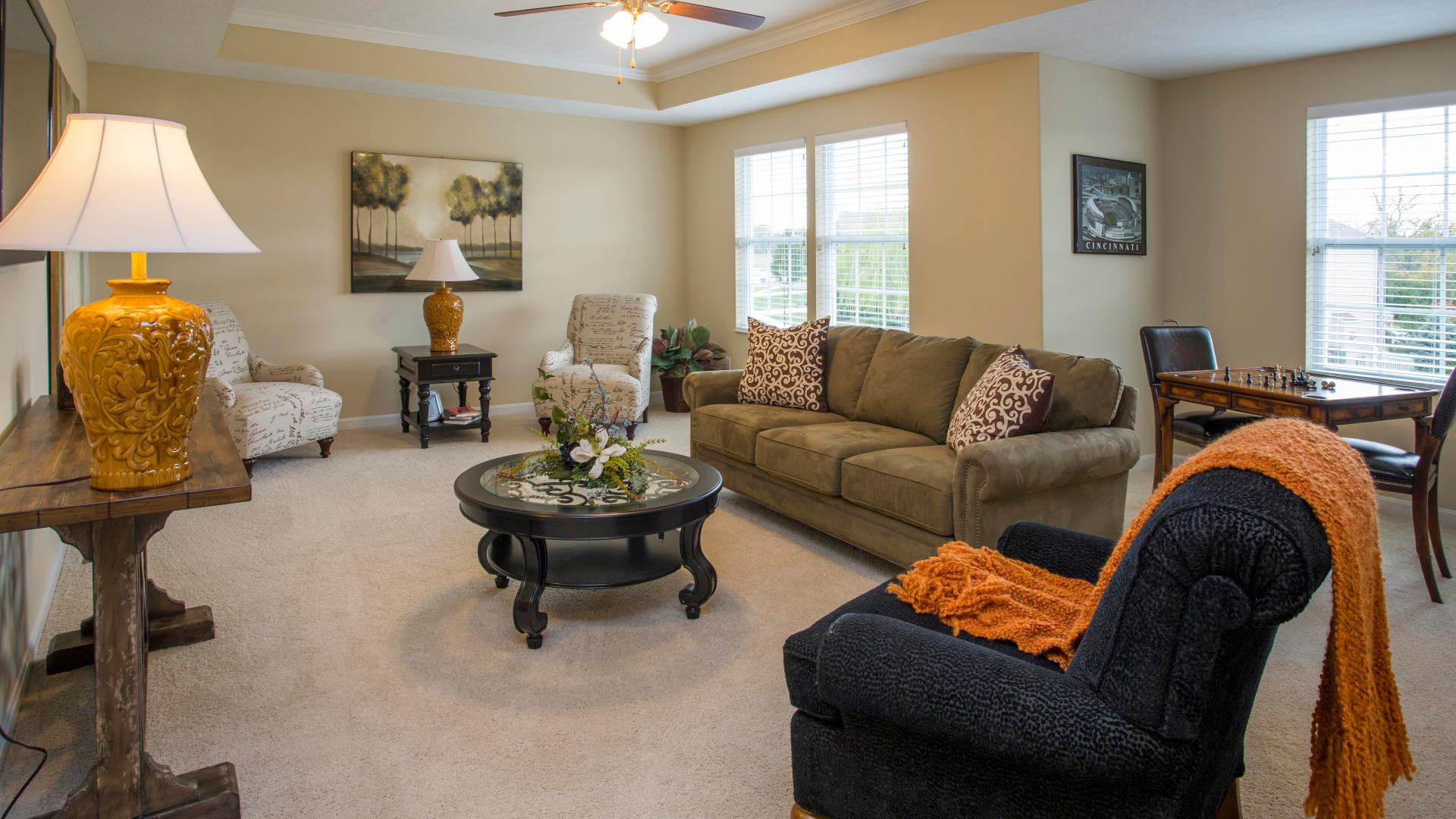 Living Area featured in the Columbus By Maronda Homes in Columbus, OH