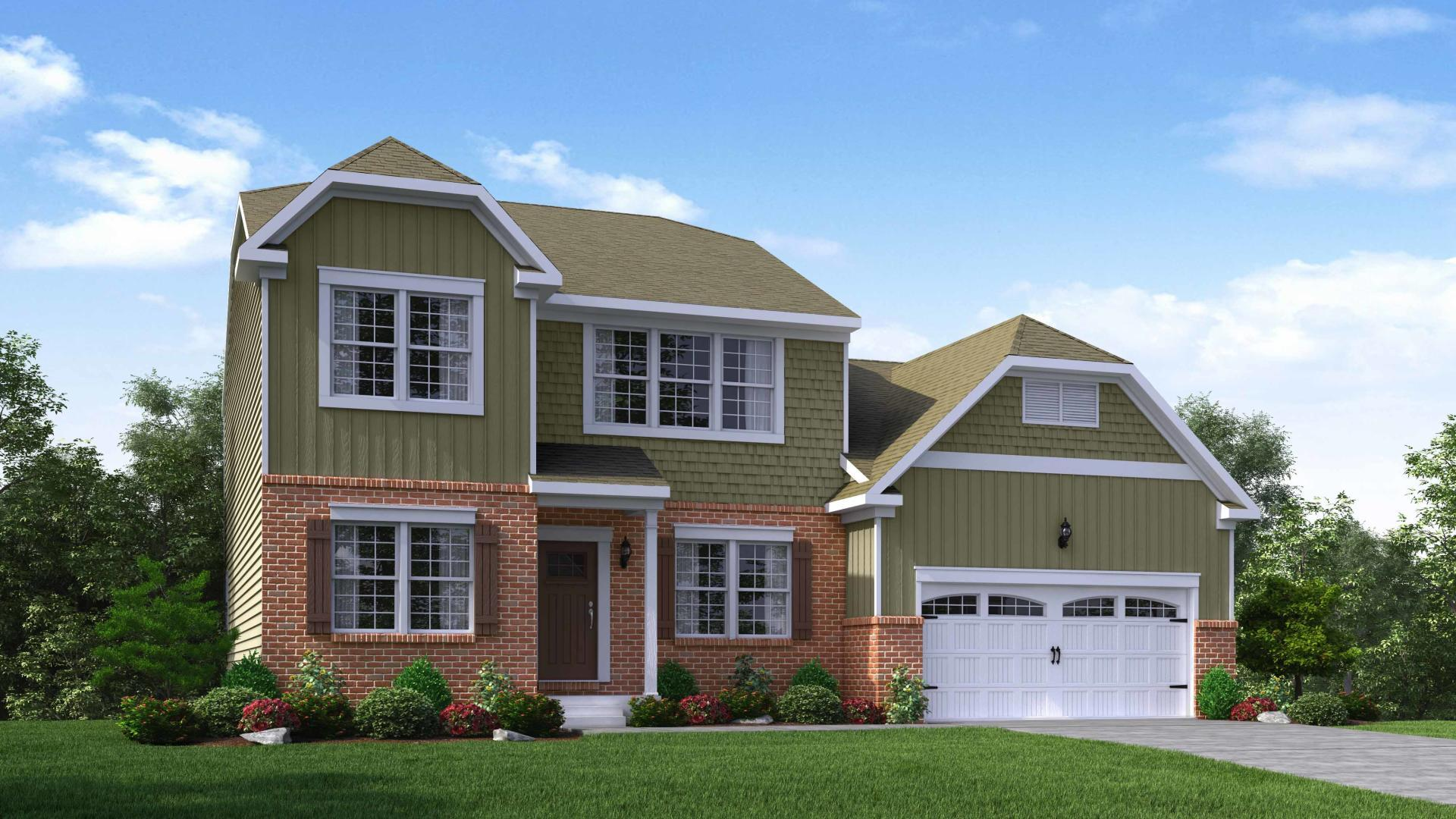 Exterior featured in the Madison By Maronda Homes in Cincinnati, OH