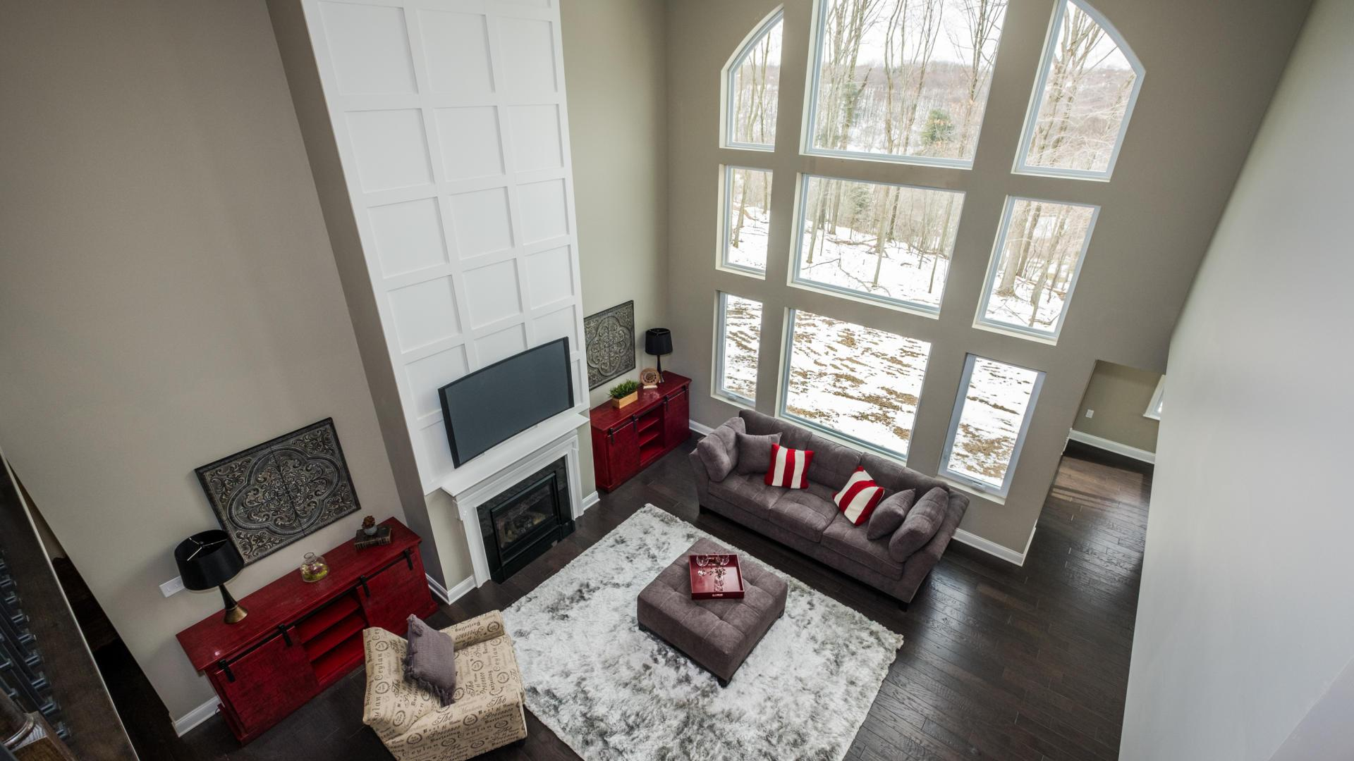 Living Area featured in the Madison By Maronda Homes in Cincinnati, OH