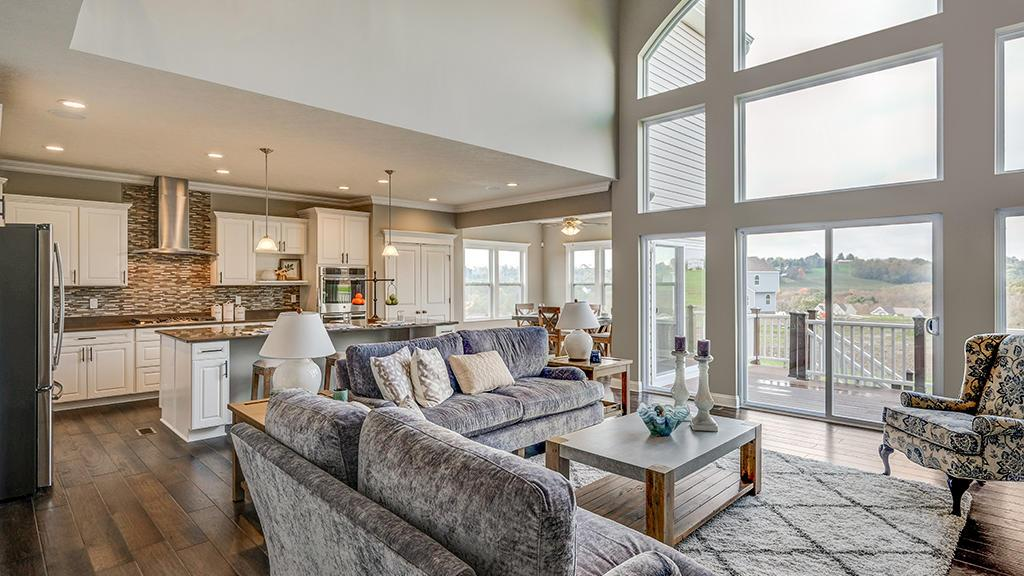 Living Area featured in the Truman By Maronda Homes in Cincinnati, OH