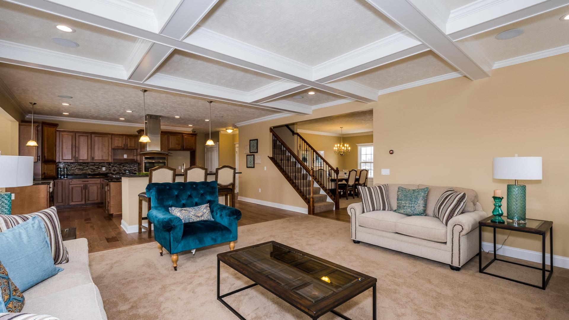 Living Area featured in the Ford By Maronda Homes in Cincinnati, OH