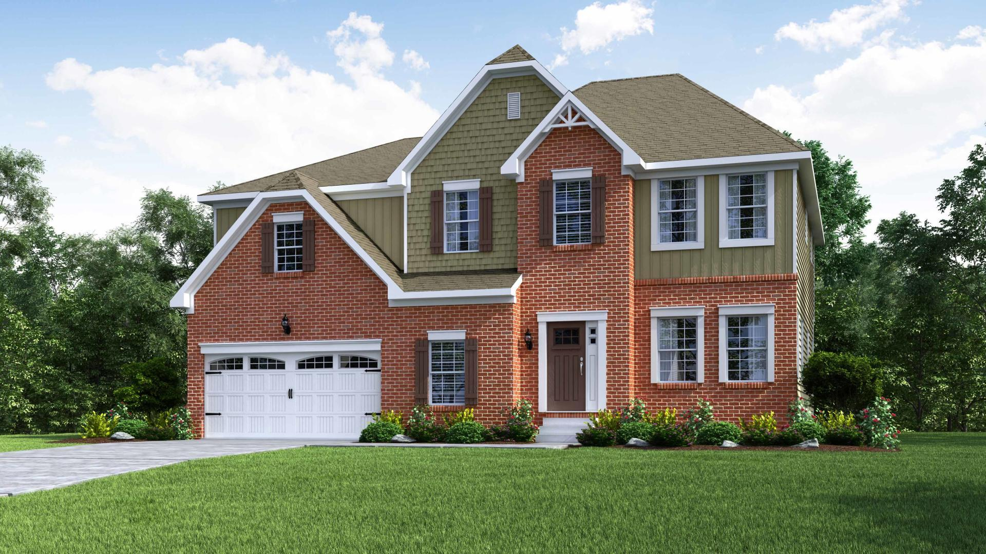 Exterior featured in the Cleveland By Maronda Homes in Cincinnati, OH