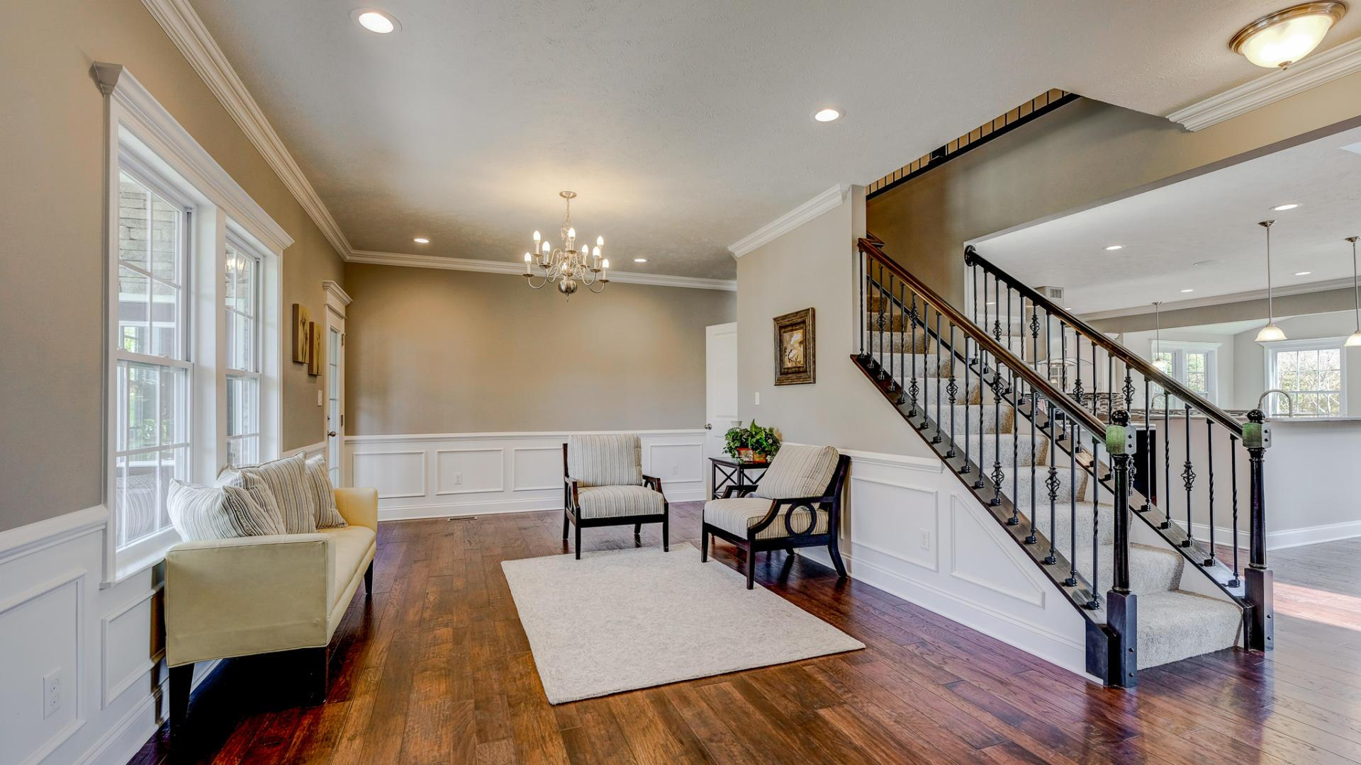 Living Area featured in the Kennedy By Maronda Homes in Cincinnati, OH