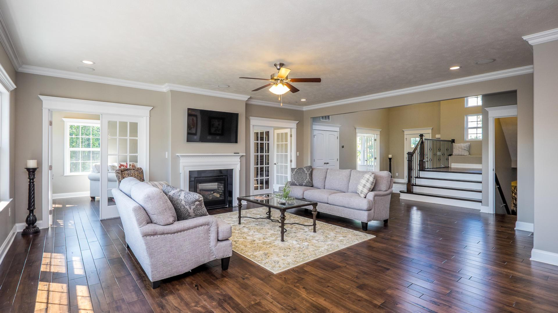 Living Area featured in the Eisenhower By Maronda Homes in Cincinnati, OH