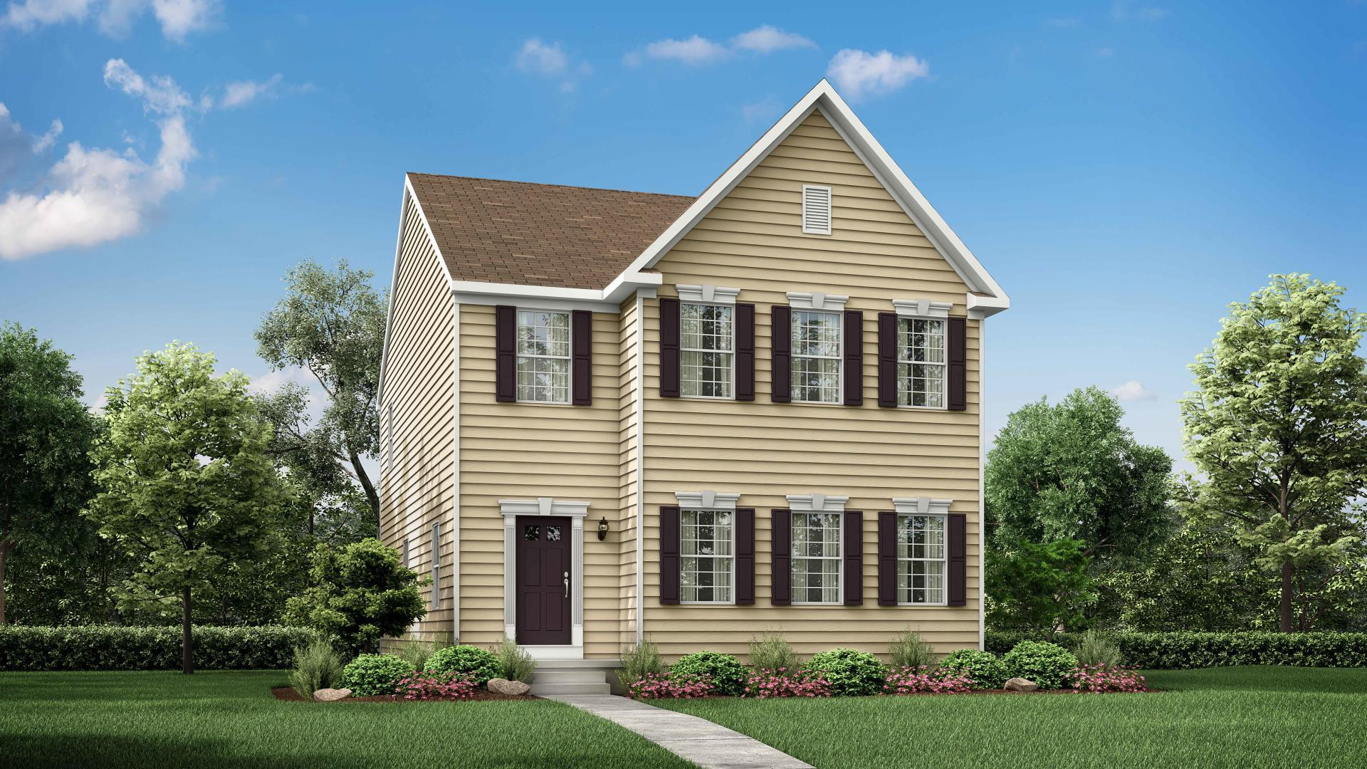Exterior featured in the Carol By Maronda Homes in Cincinnati, OH