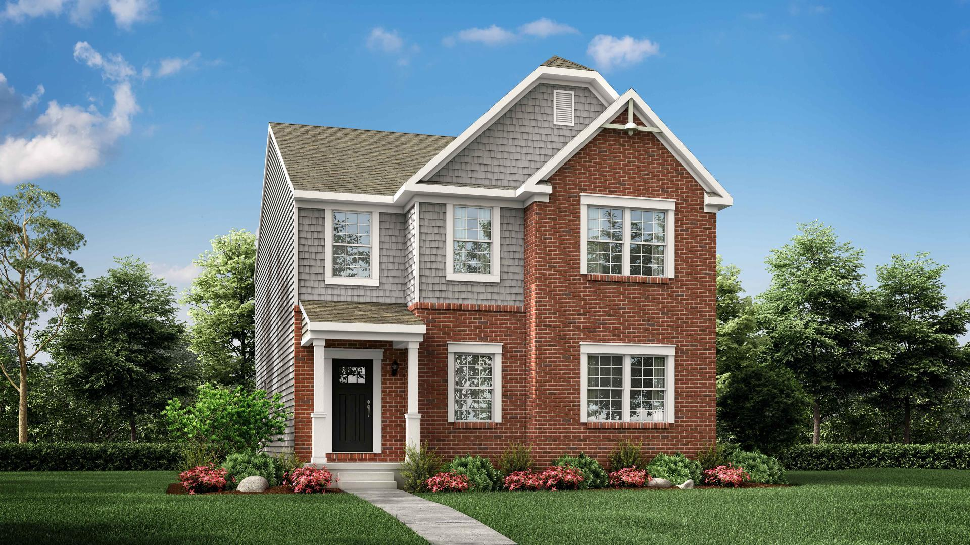 Exterior featured in the Lucille By Maronda Homes in Cincinnati, OH
