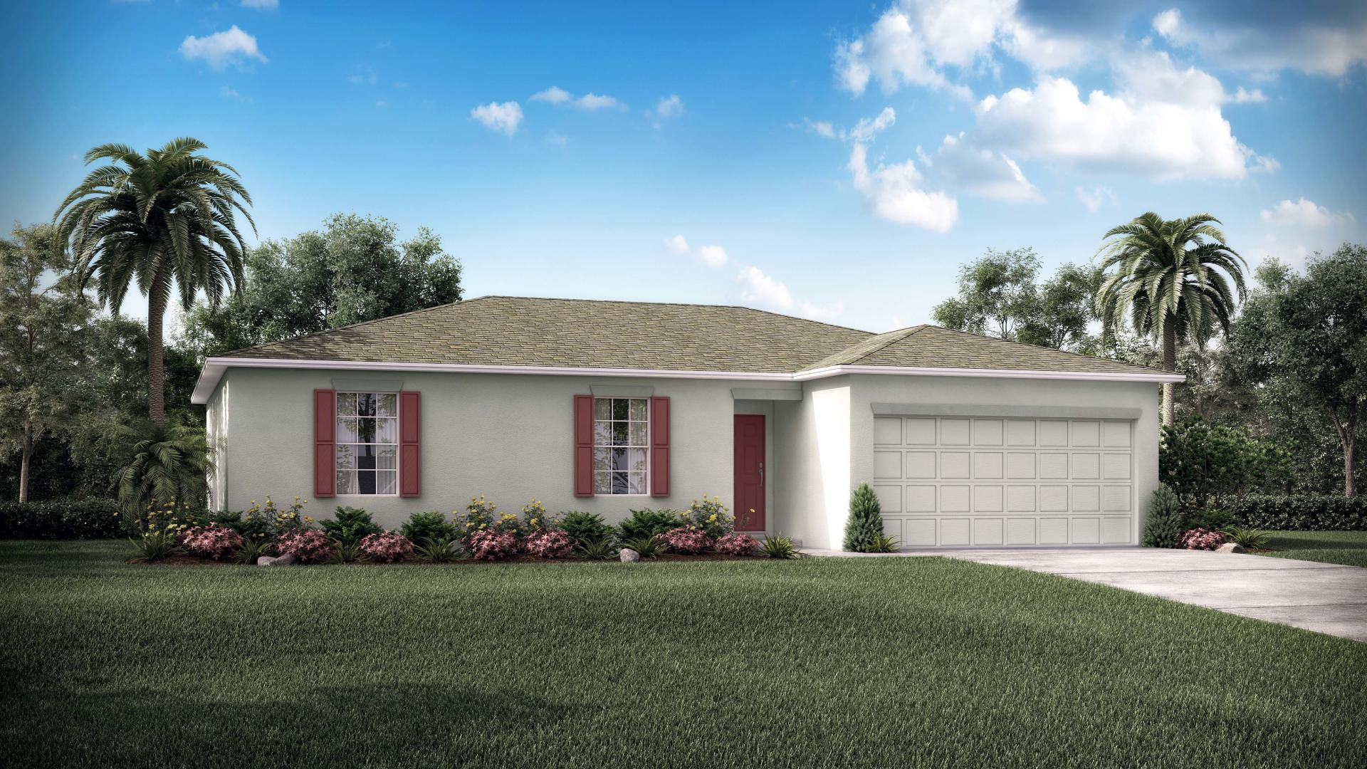 Exterior featured in the Cedar By Maronda Homes in Tampa-St. Petersburg, FL