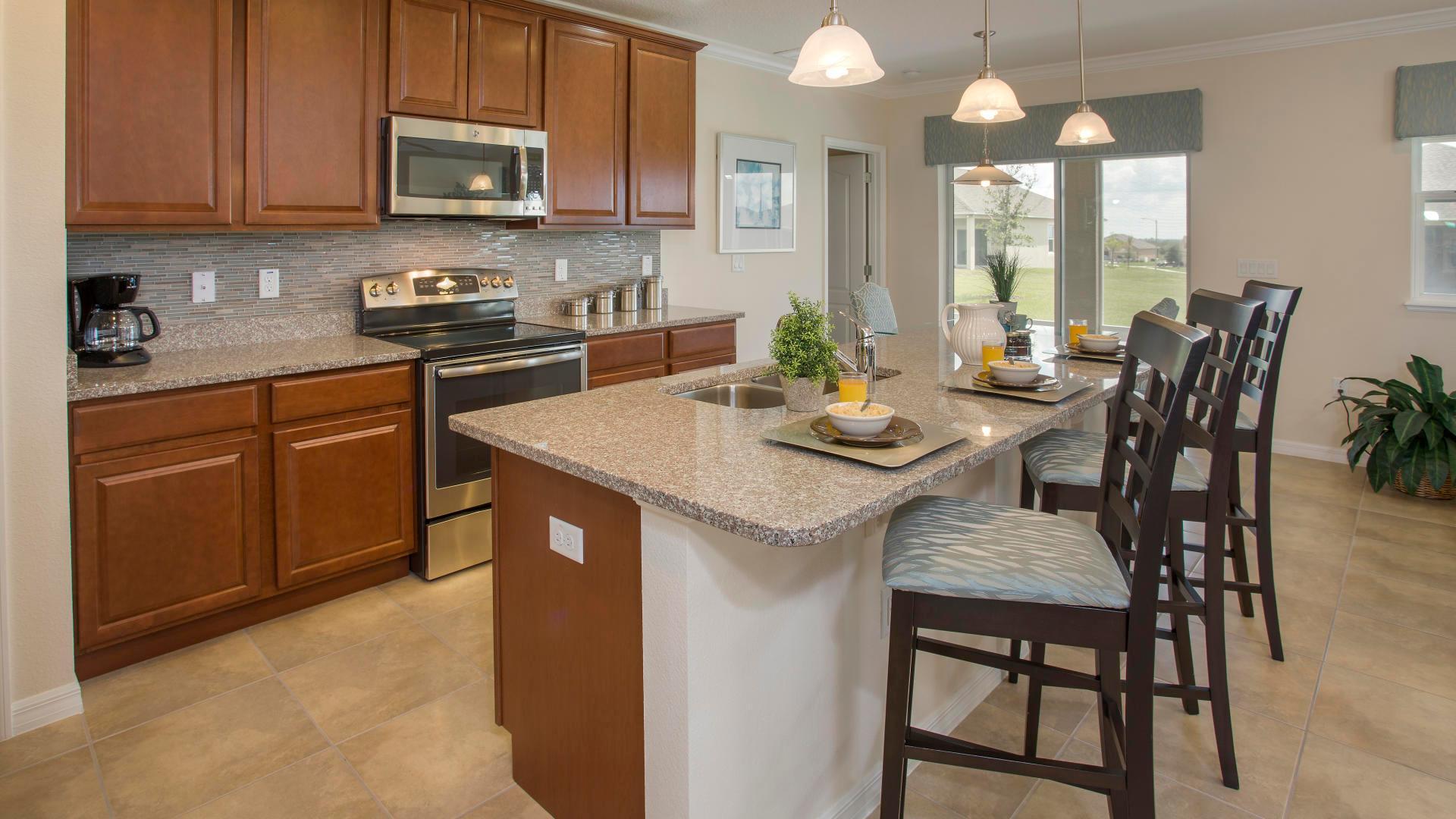 Kitchen featured in the Fairfield By Maronda Homes in Daytona Beach, FL