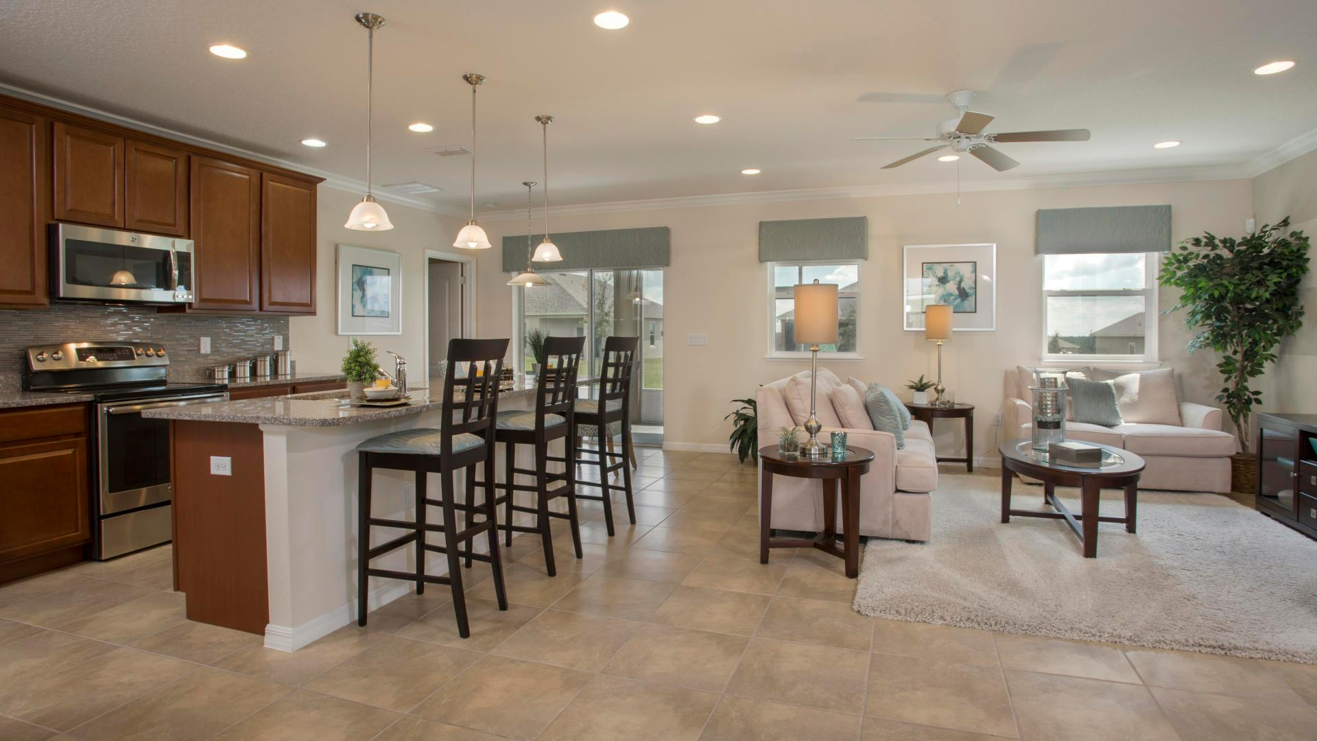 Living Area featured in the Fairfield By Maronda Homes in Ocala, FL
