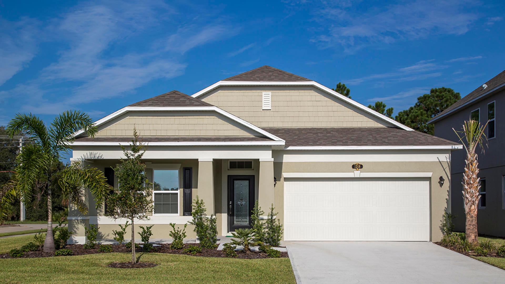 Exterior featured in the Hampton By Maronda Homes in Punta Gorda, FL